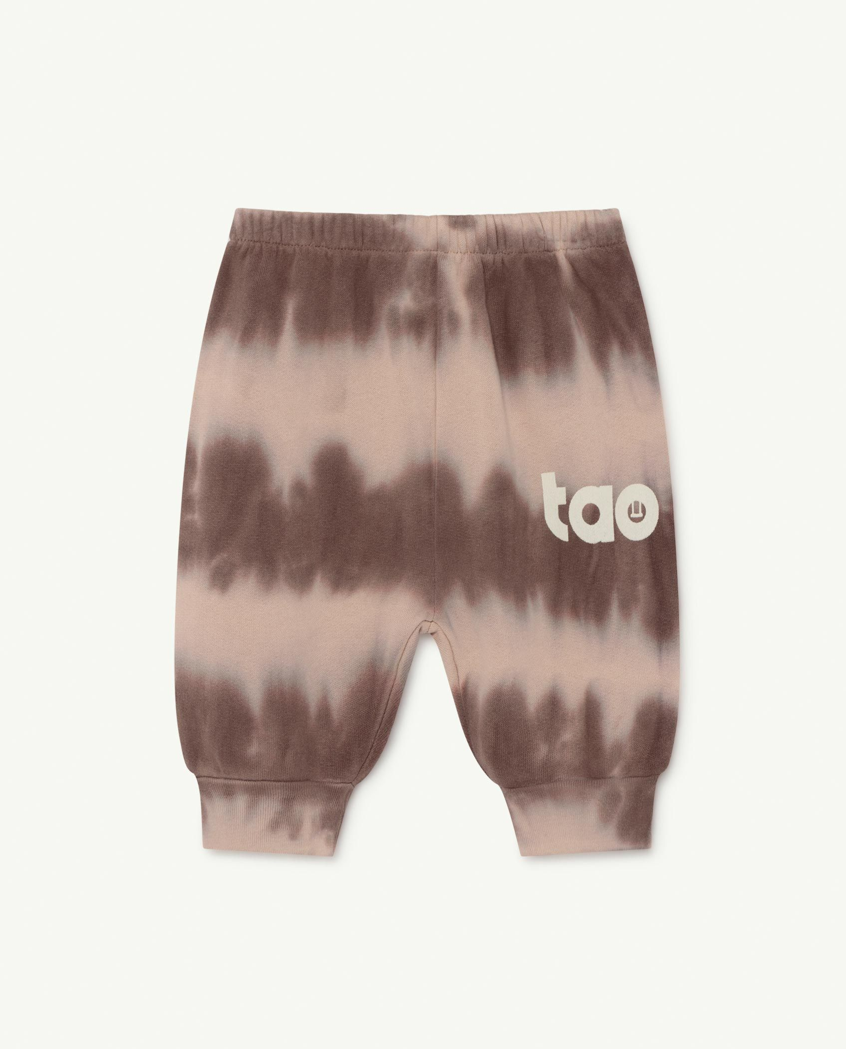 Soft Pink Logo Dromedary Baby Trousers img-1