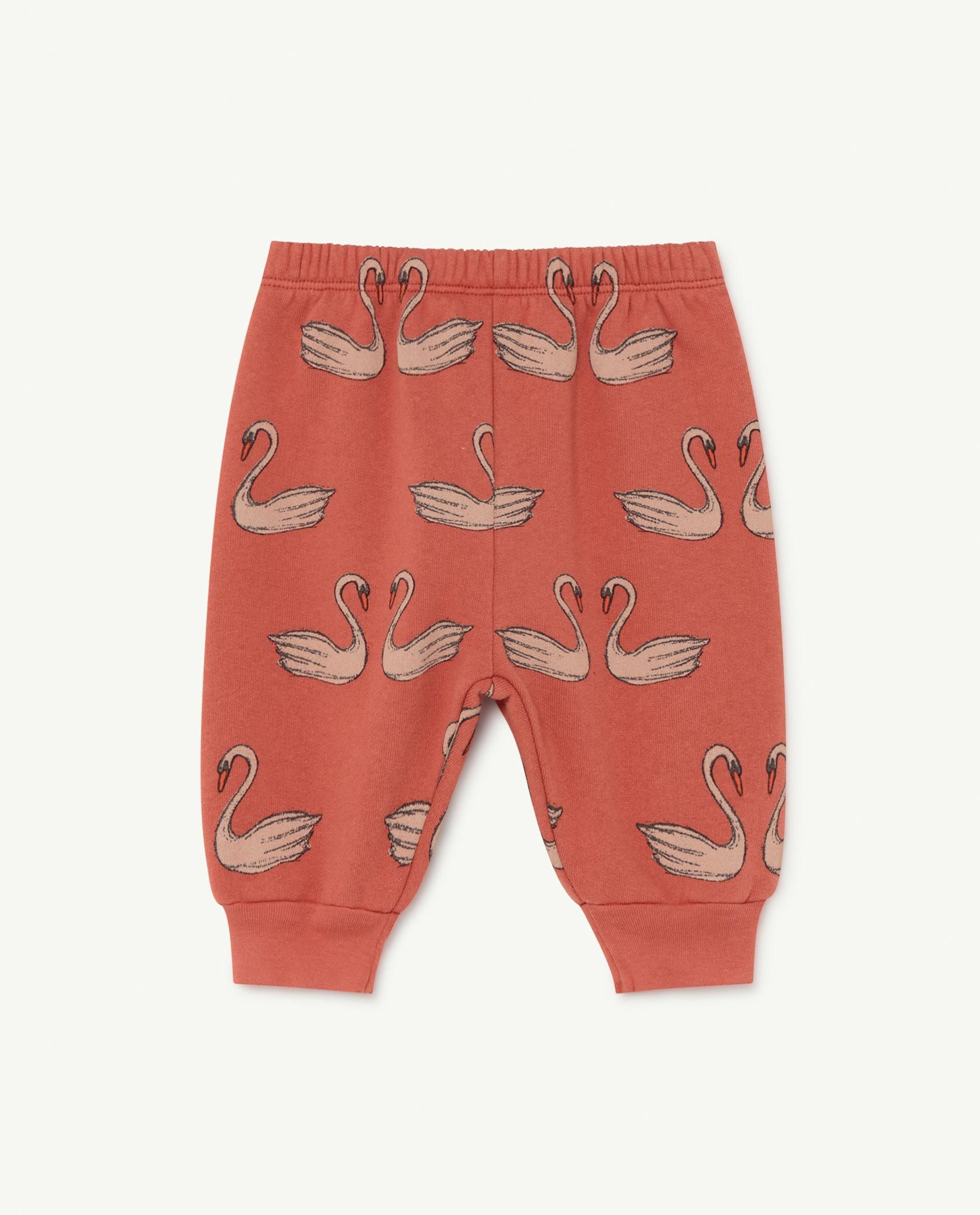Red Swans Dromedary Baby Trousers img-1