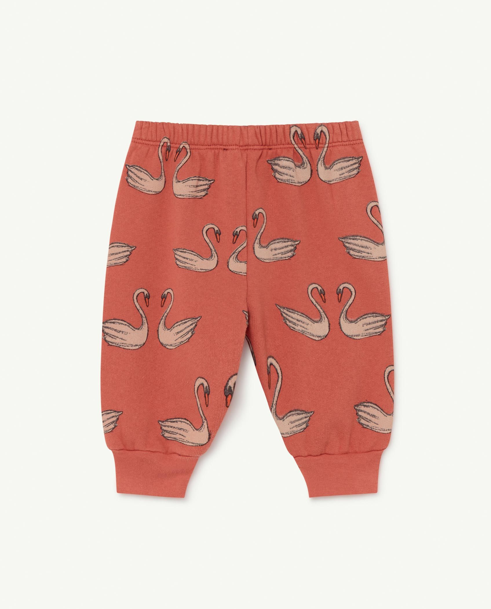 Red Swans Dromedary Baby Trousers img-2