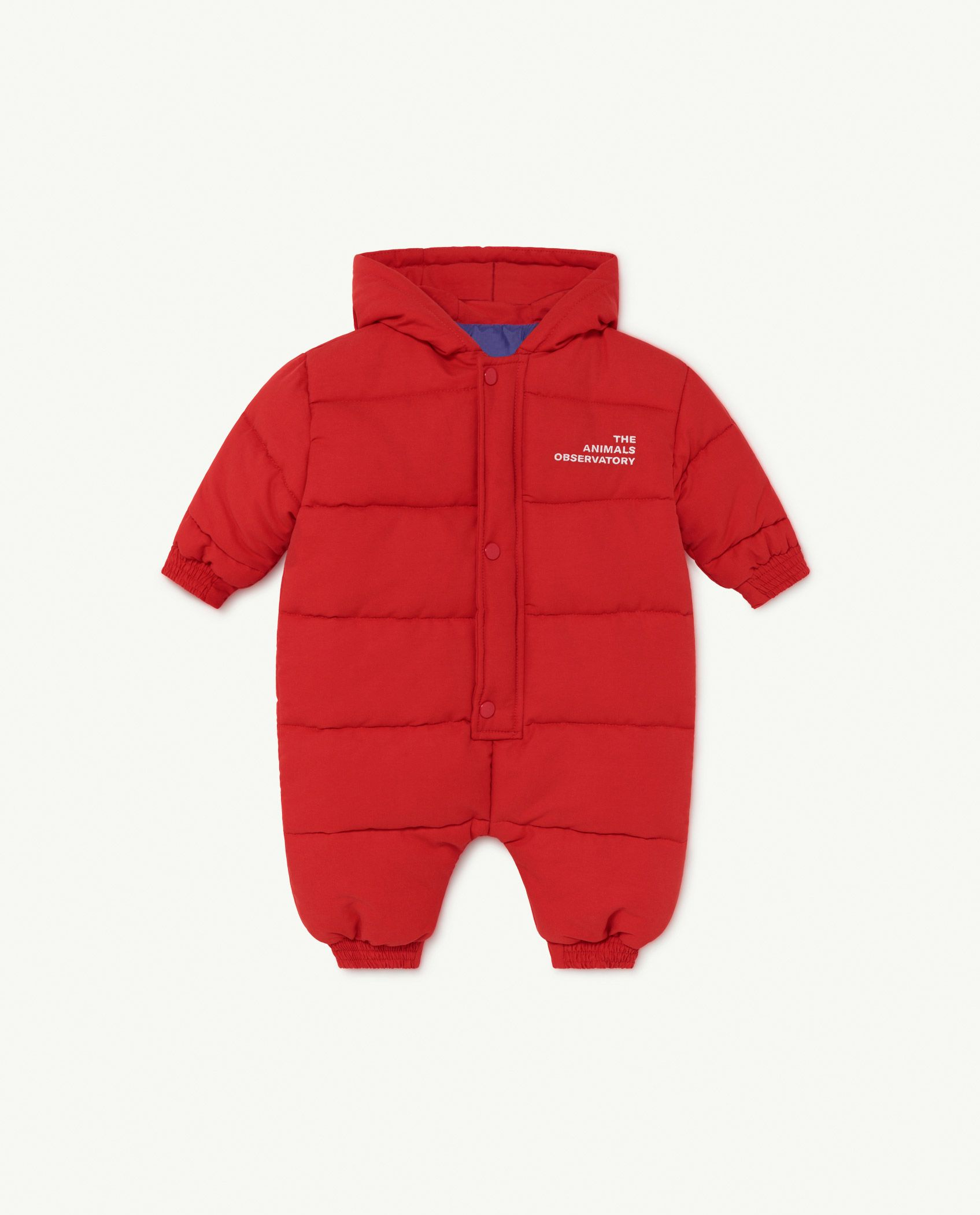 Red The Animals Bumblebee Baby Jumpsuit img-1