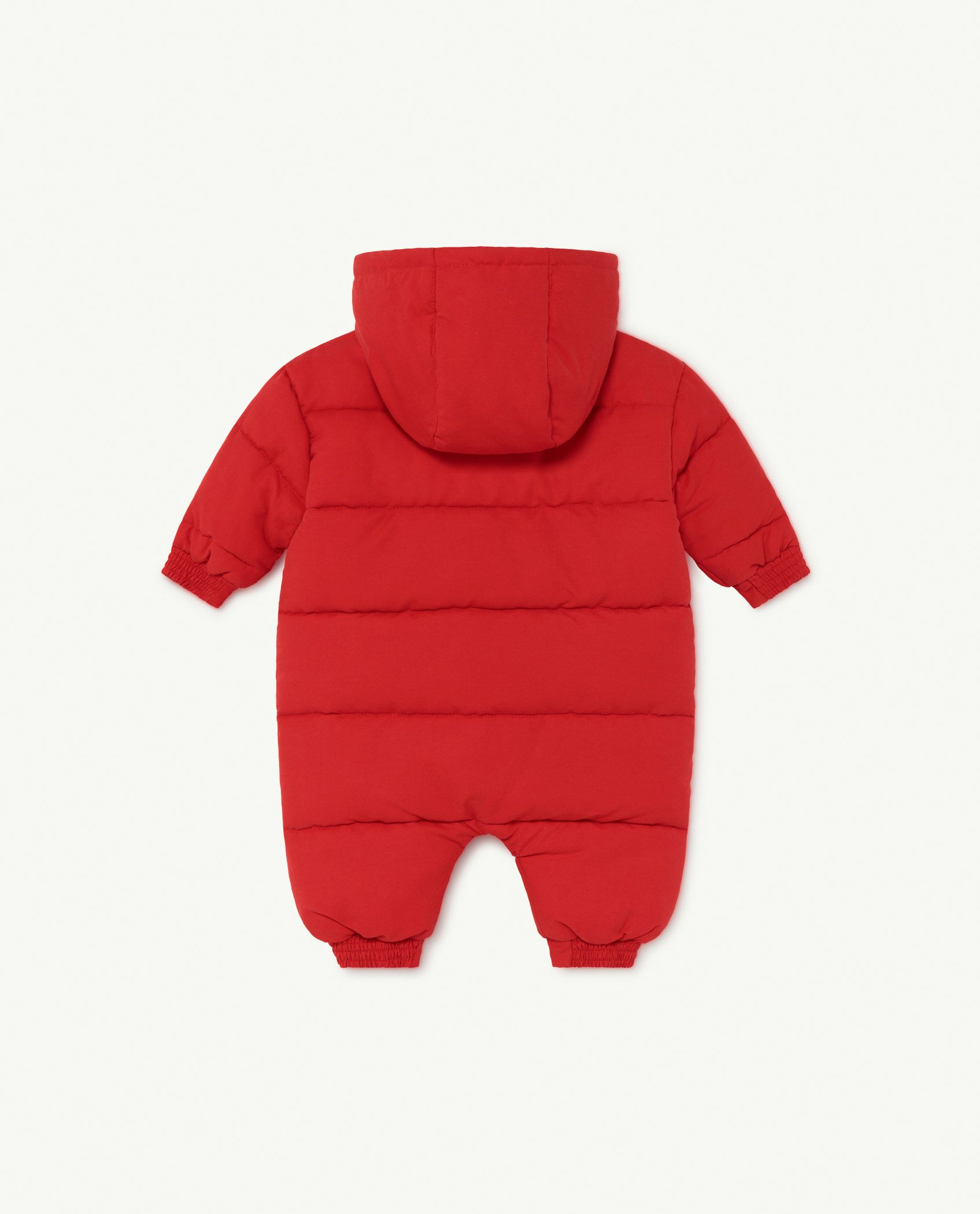 Red The Animals Bumblebee Baby Jumpsuit img-2