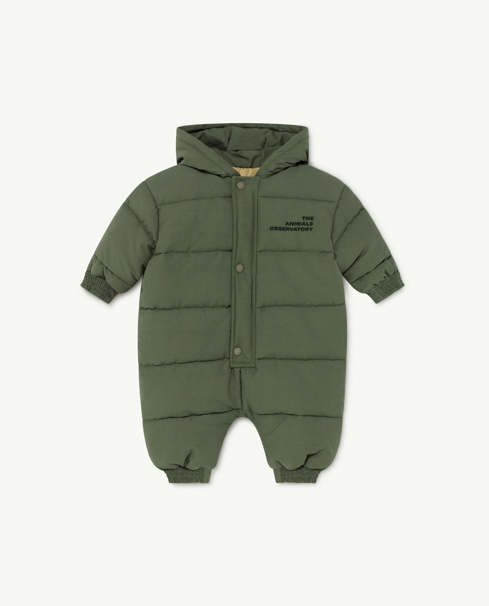 Military The Animals Bumblebee Baby Jumpsuit img-1