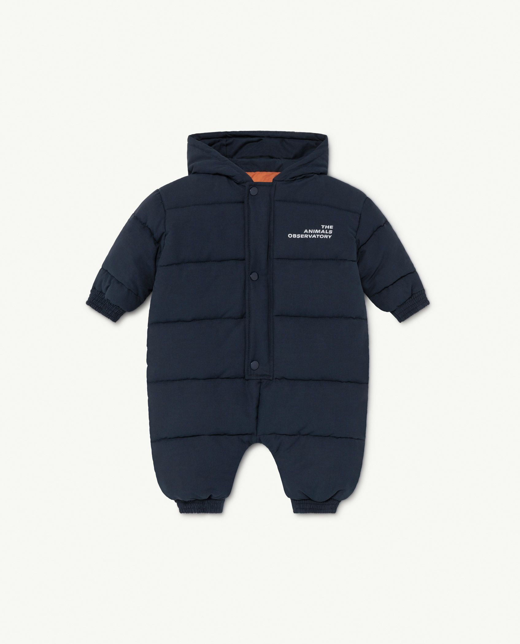 Navy The Animals Bumblebee Baby Jumpsuit img-1