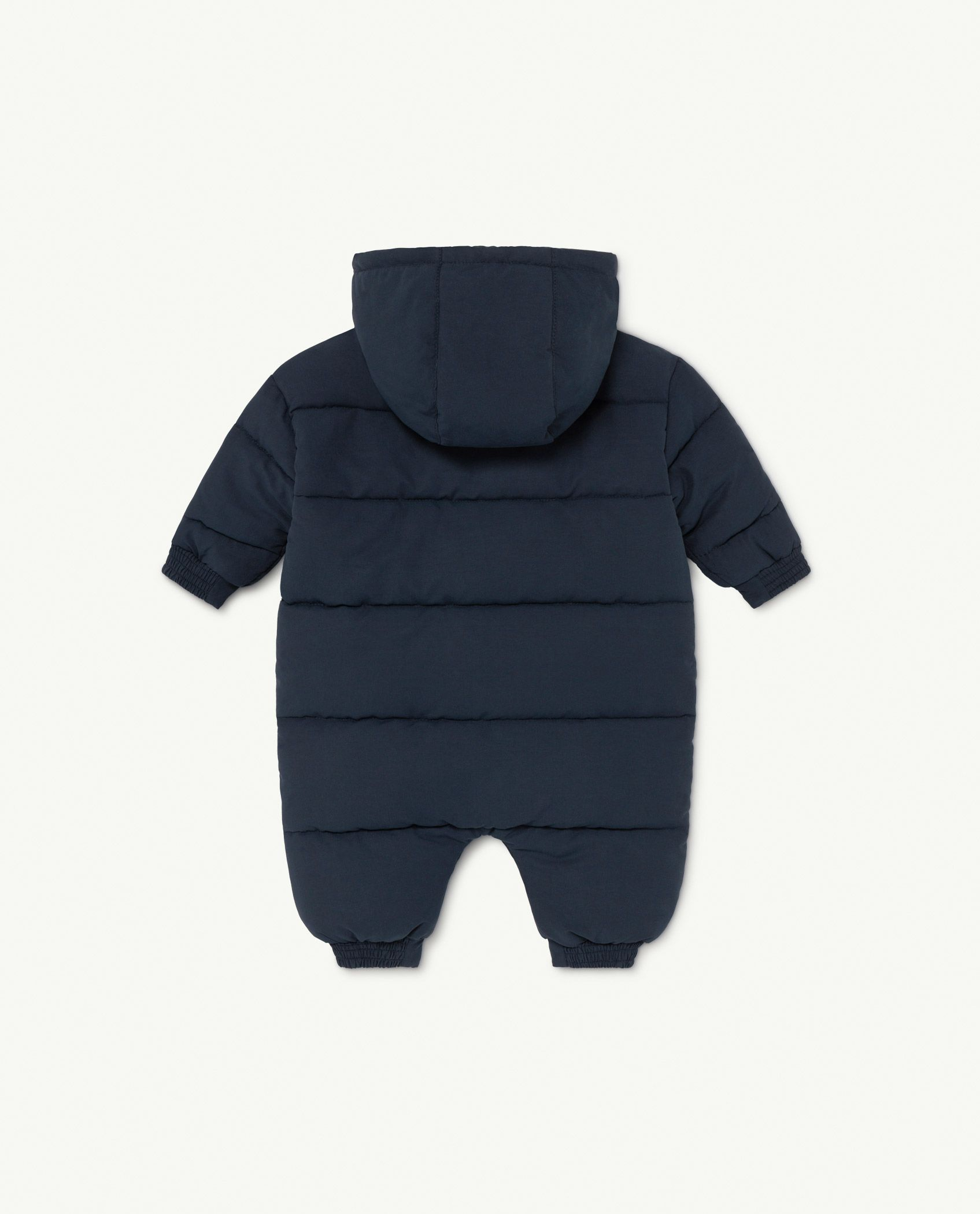 Navy The Animals Bumblebee Baby Jumpsuit img-2