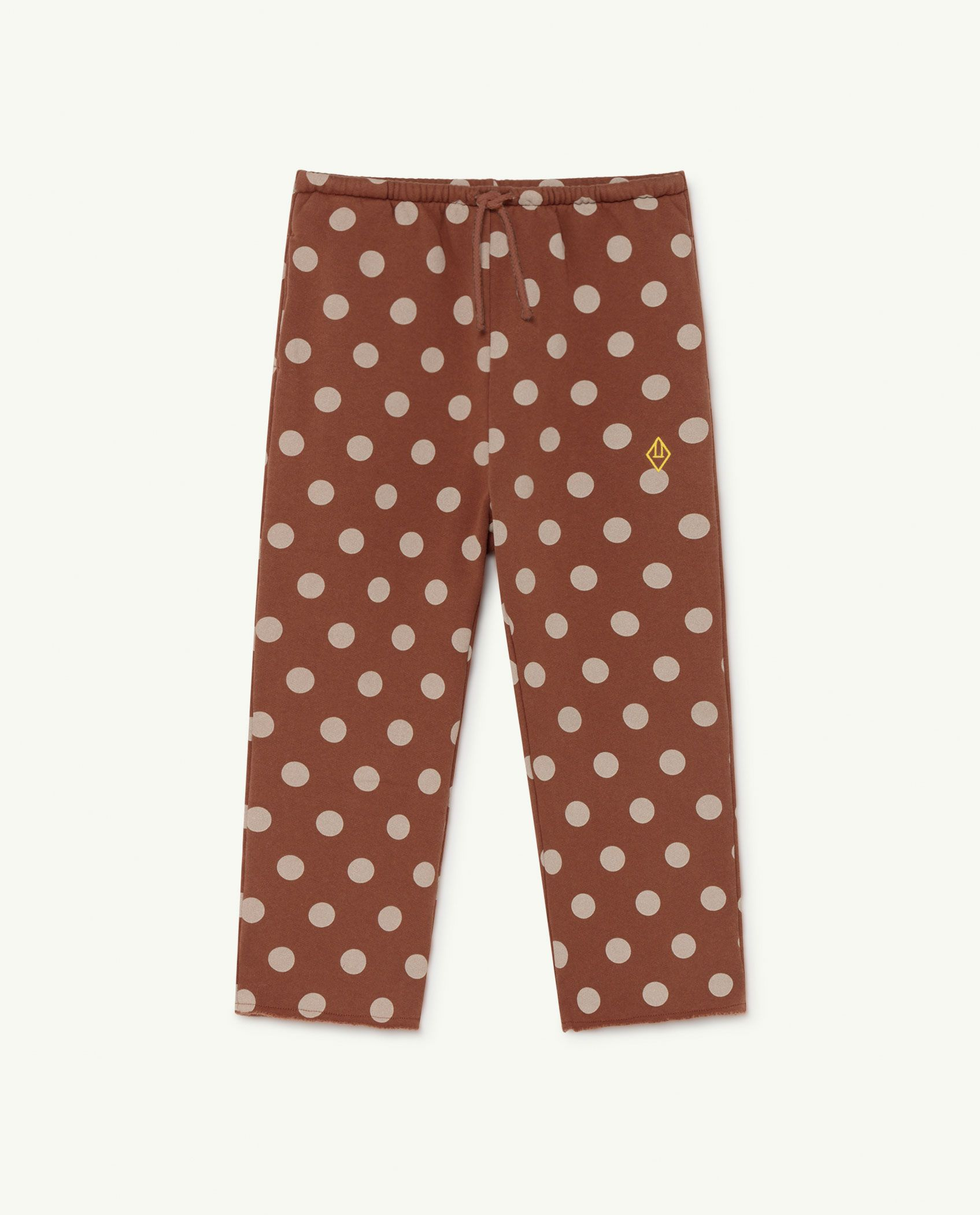 Brown Dots Horse Trousers img-1
