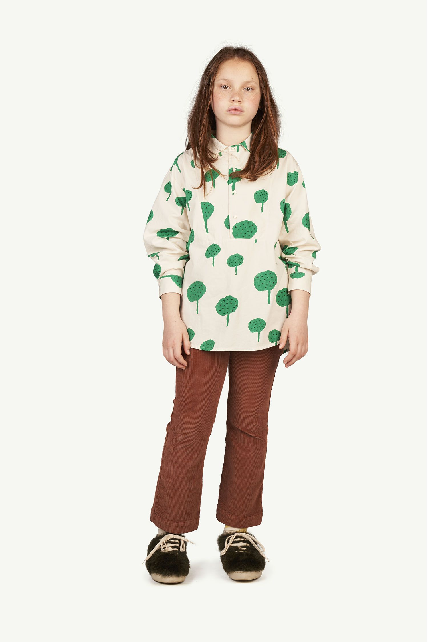 Brown Logo Porcupine Trousers img-4