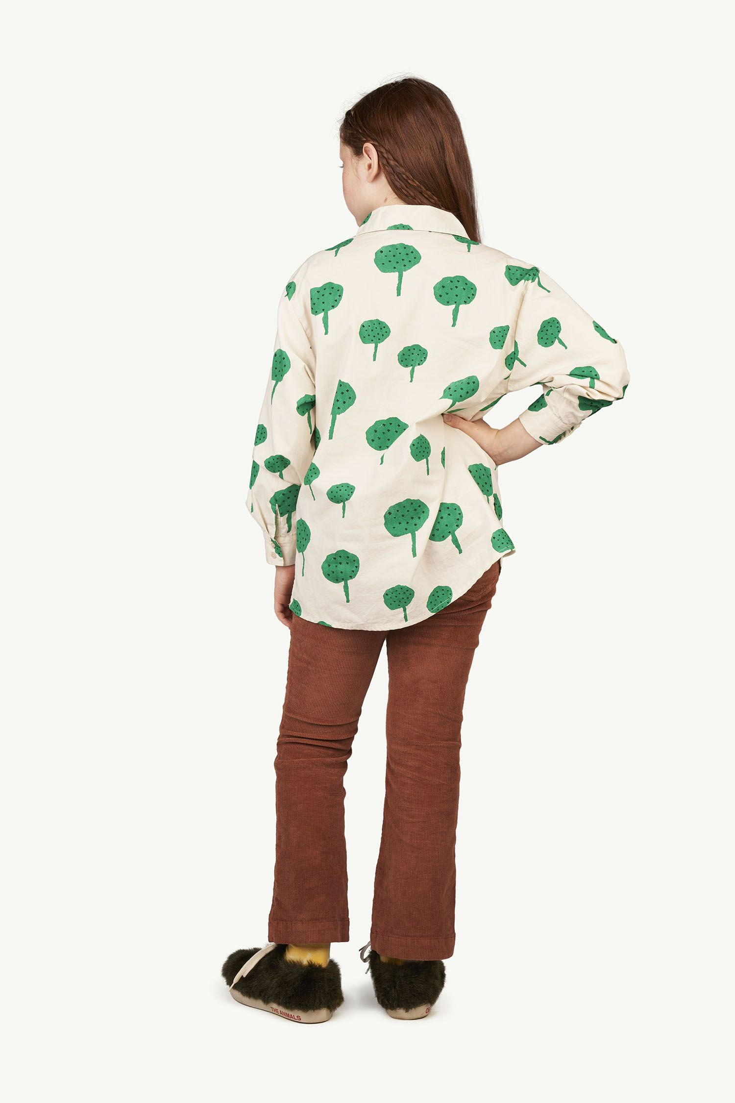Brown Logo Porcupine Trousers img-6