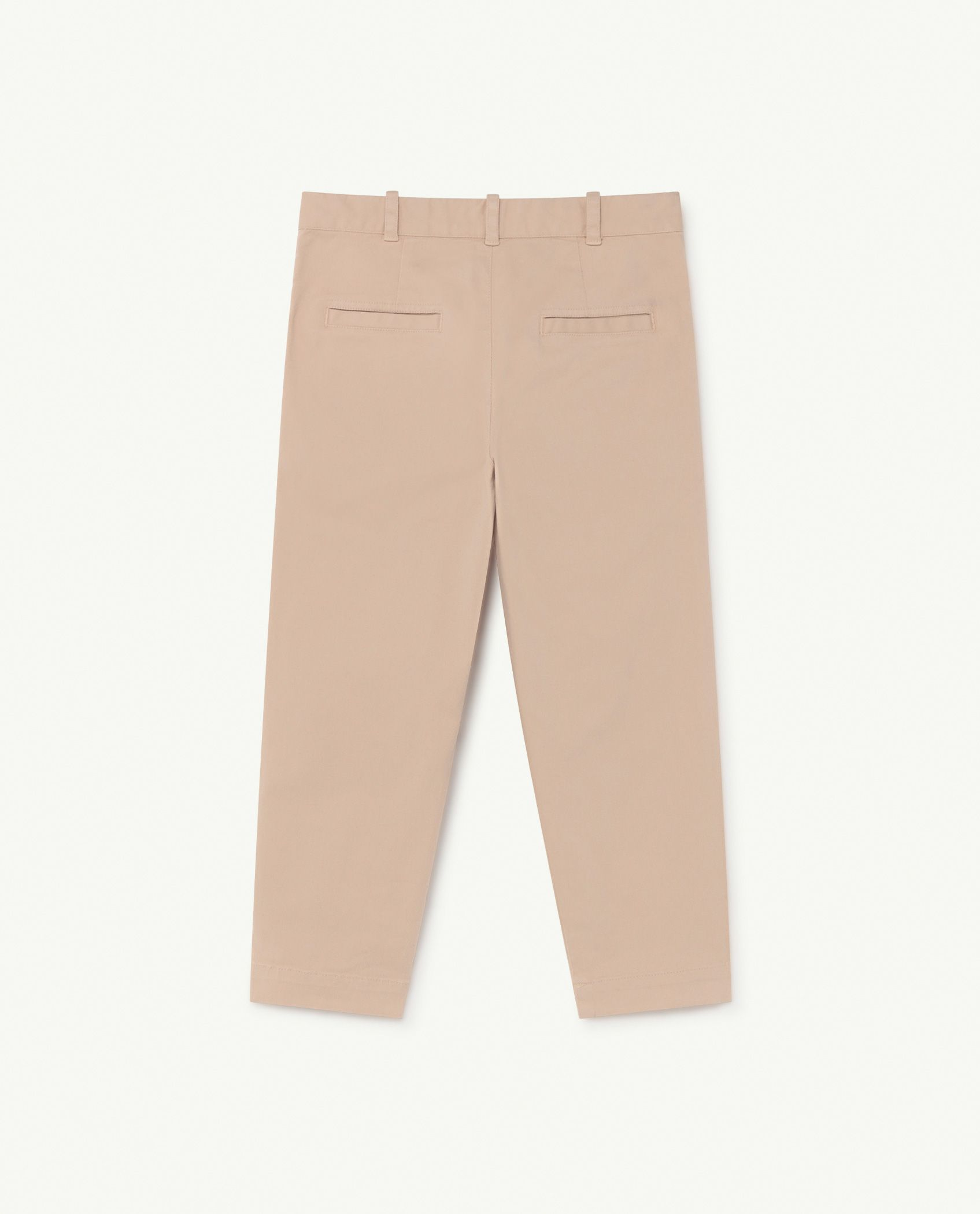 Soft Pink Logo Camel Trousers img-2