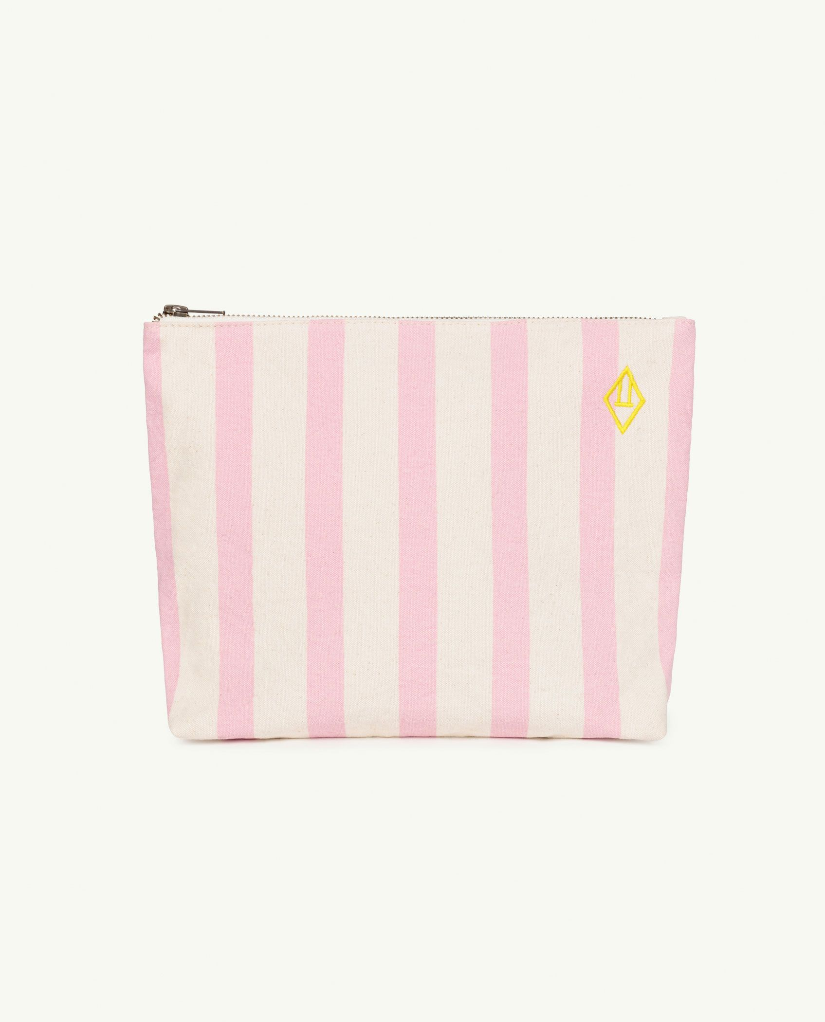 Pink Stripes Pouch Bag img-1