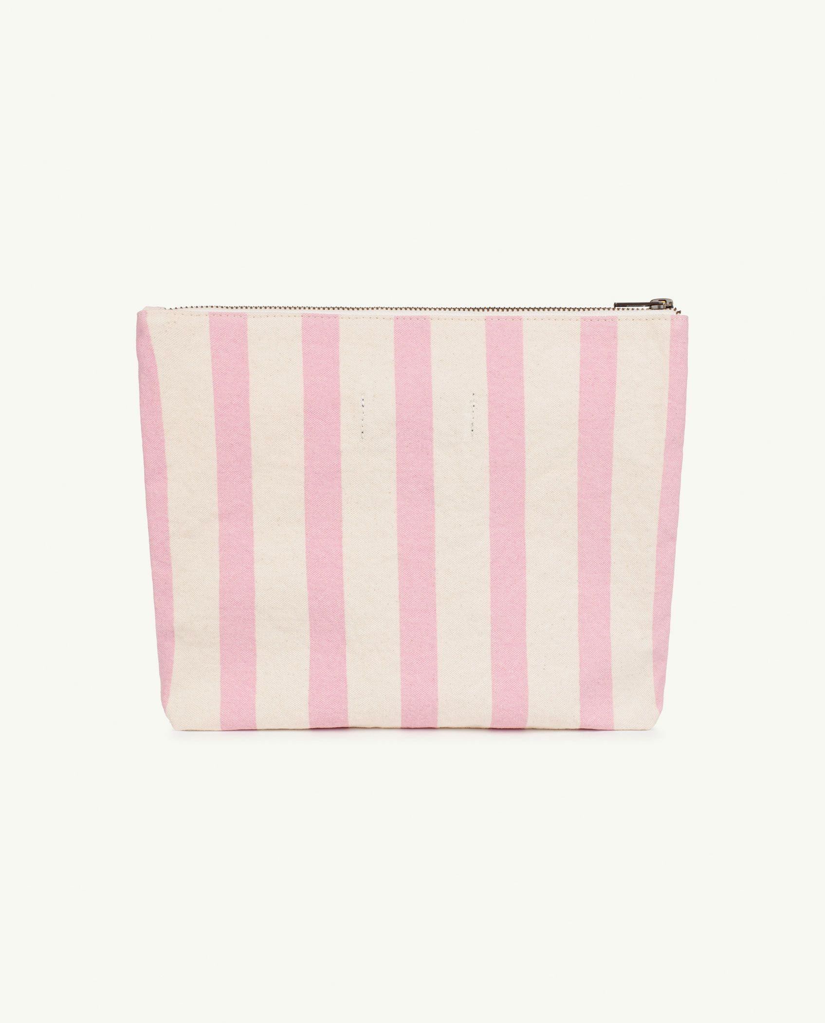 Pink Stripes Pouch Bag img-2