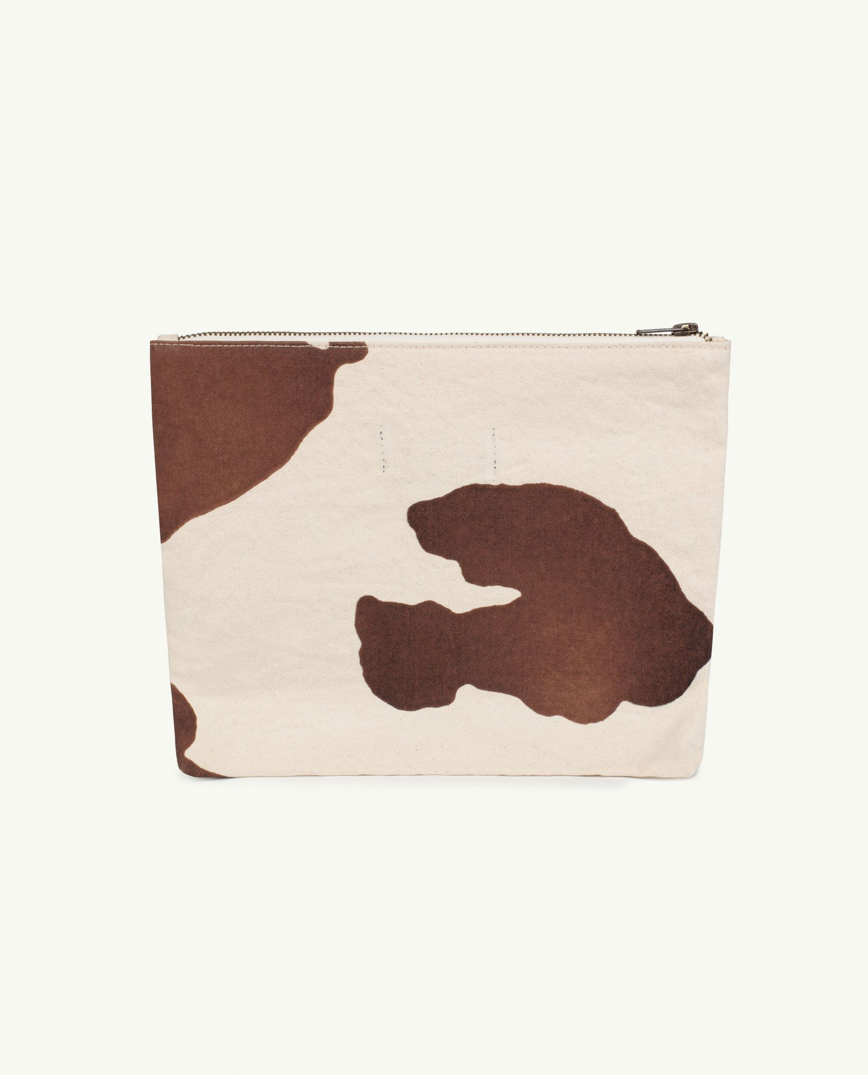 Raw White Cow Pouch Bag img-2