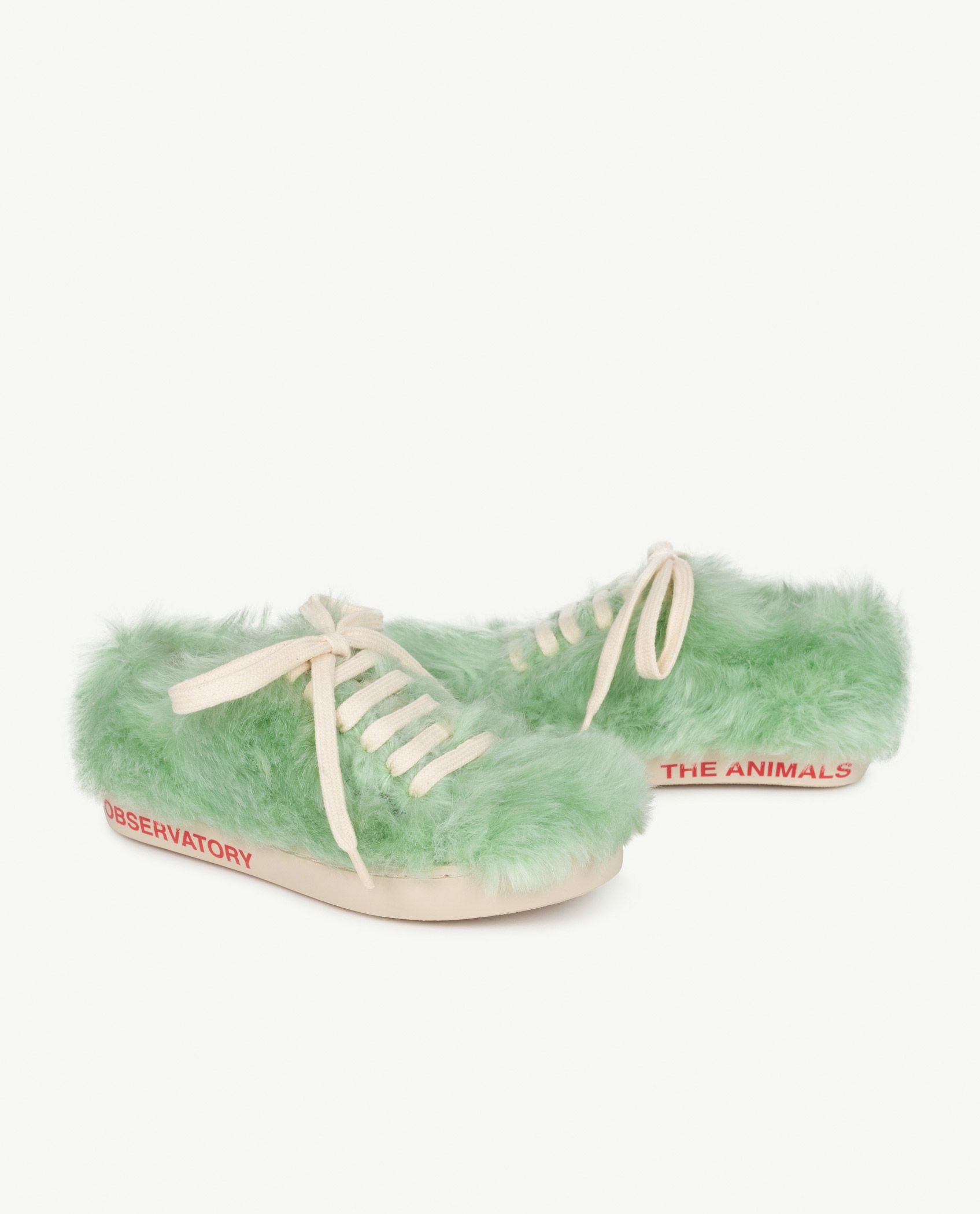 Soft Green The Animals Bunny Shoes img-1