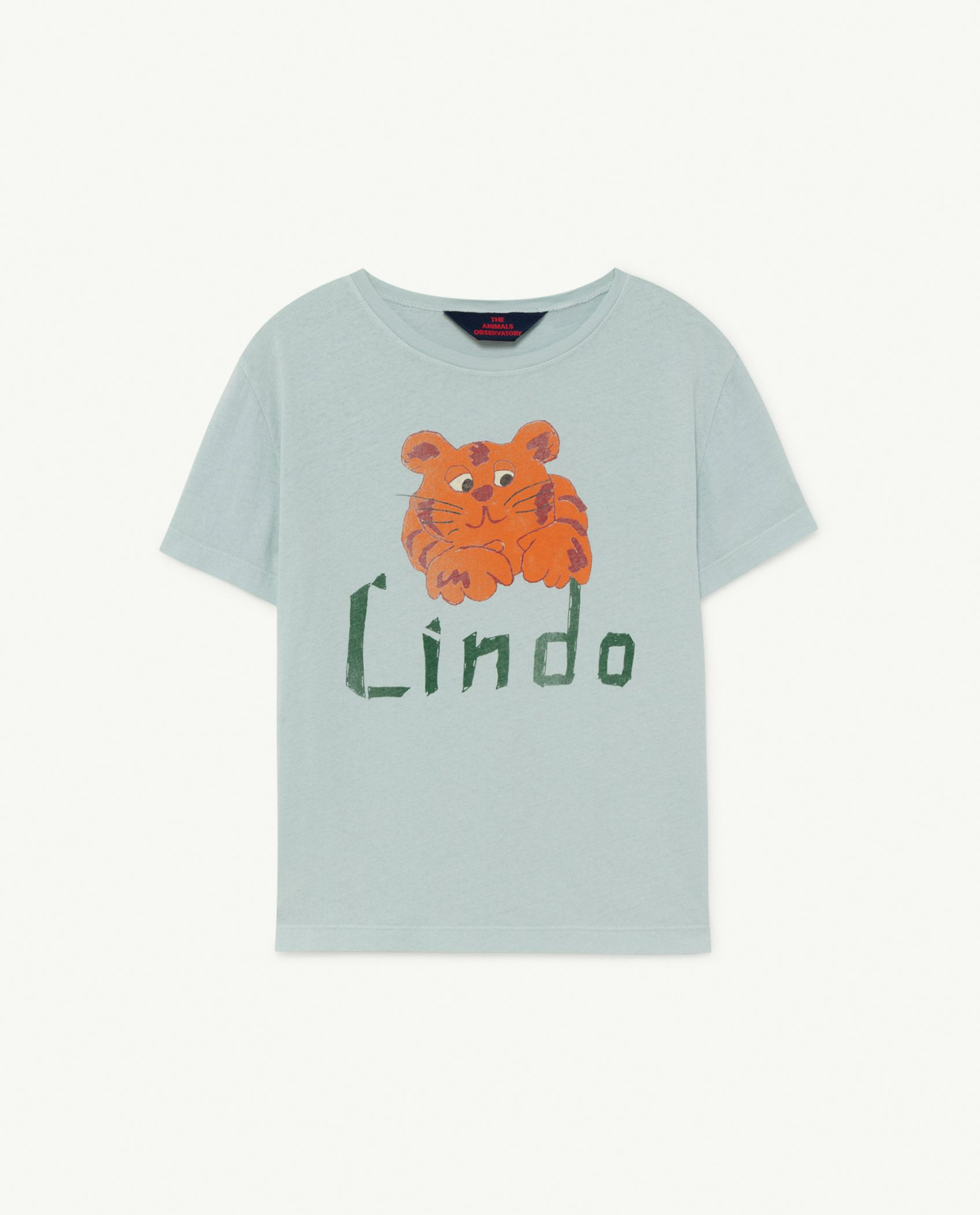 Blue Lindo Rooster T-Shirt img-1