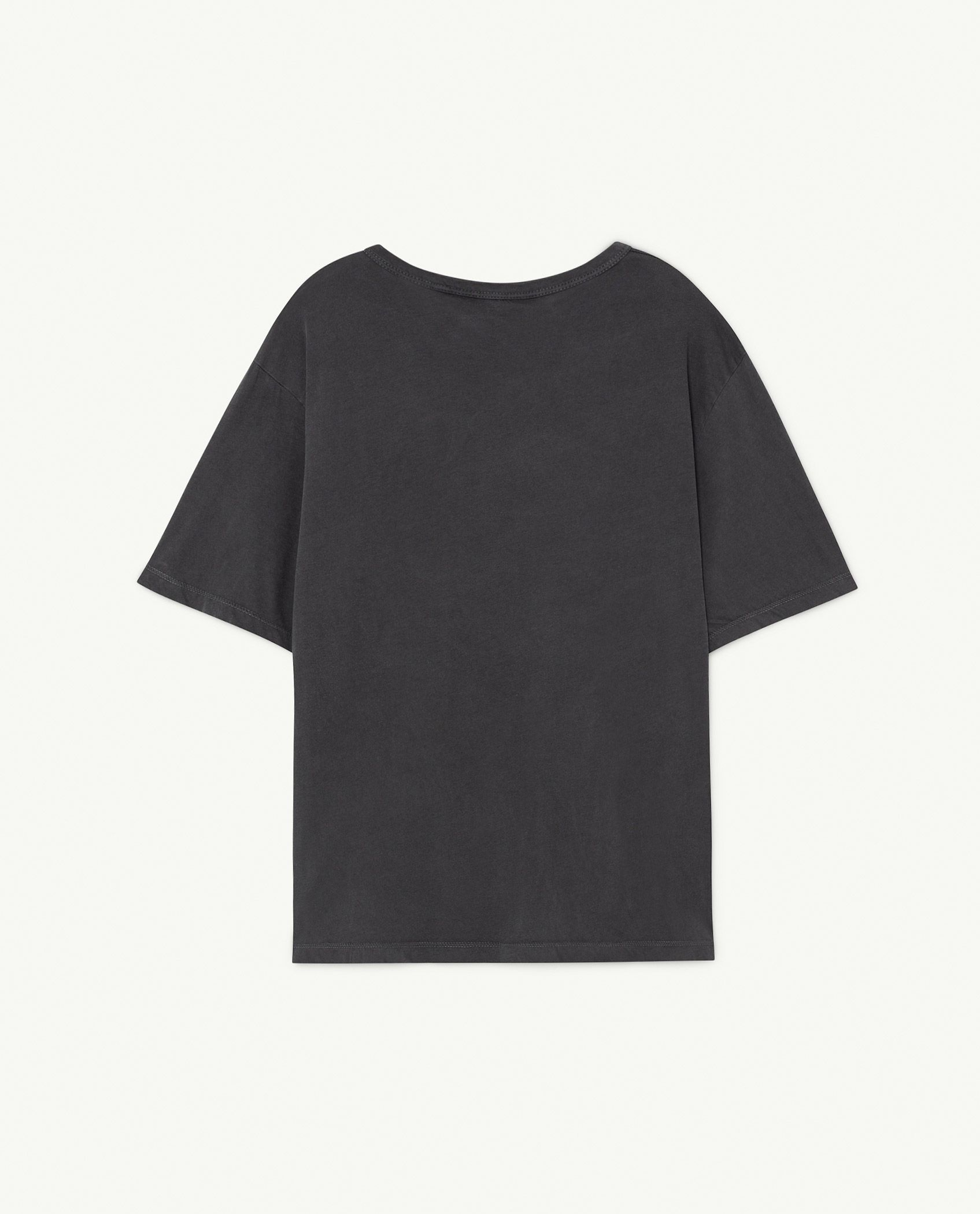 Black The Animals Rooster Oversize T-shirt img-2