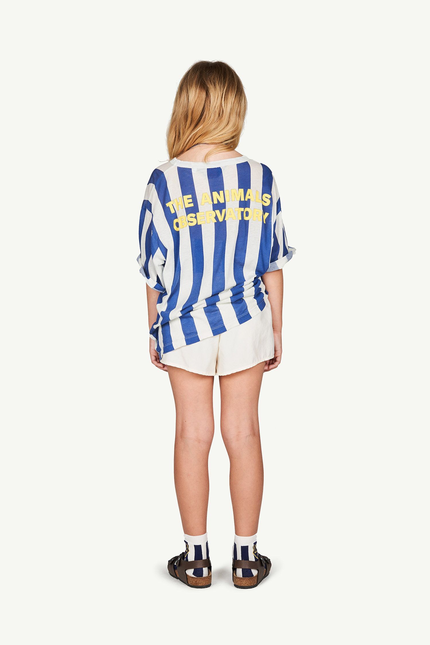 White Stripes Rooster Oversize T-Shirt img-6