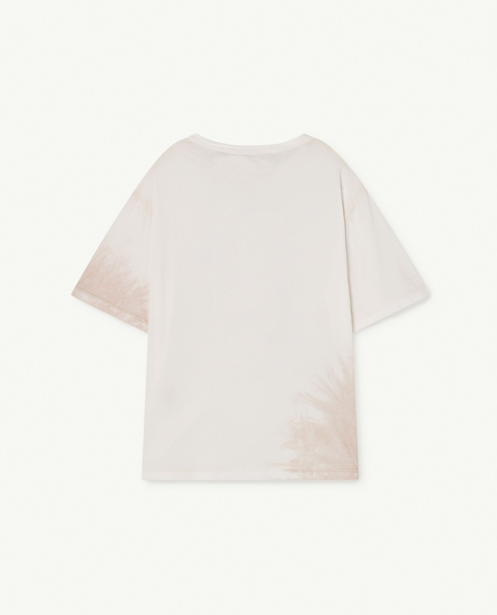 White Peanut Rooster Oversize T-shirt img-2