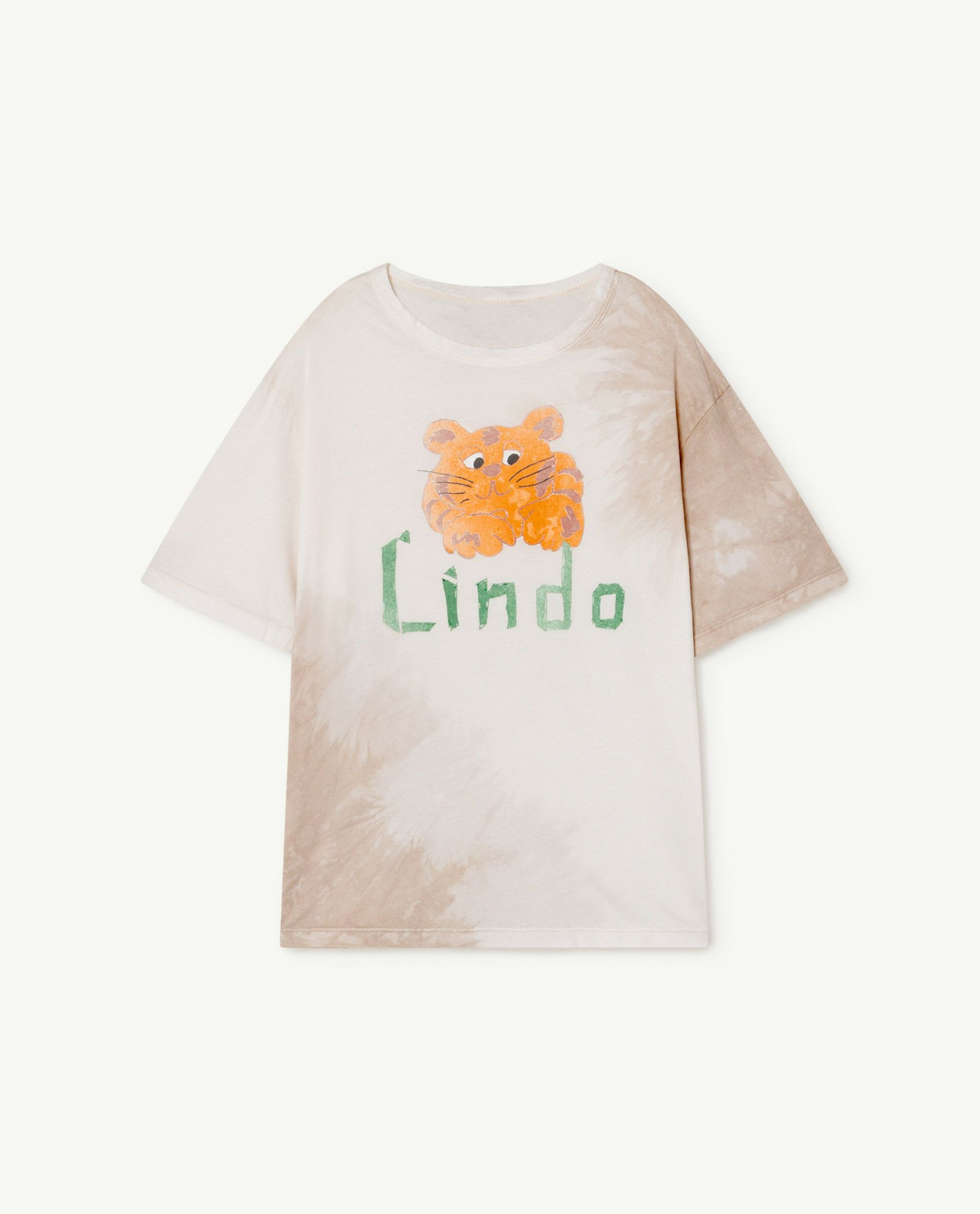 White Lindo Rooster Oversize T-shirt img-1