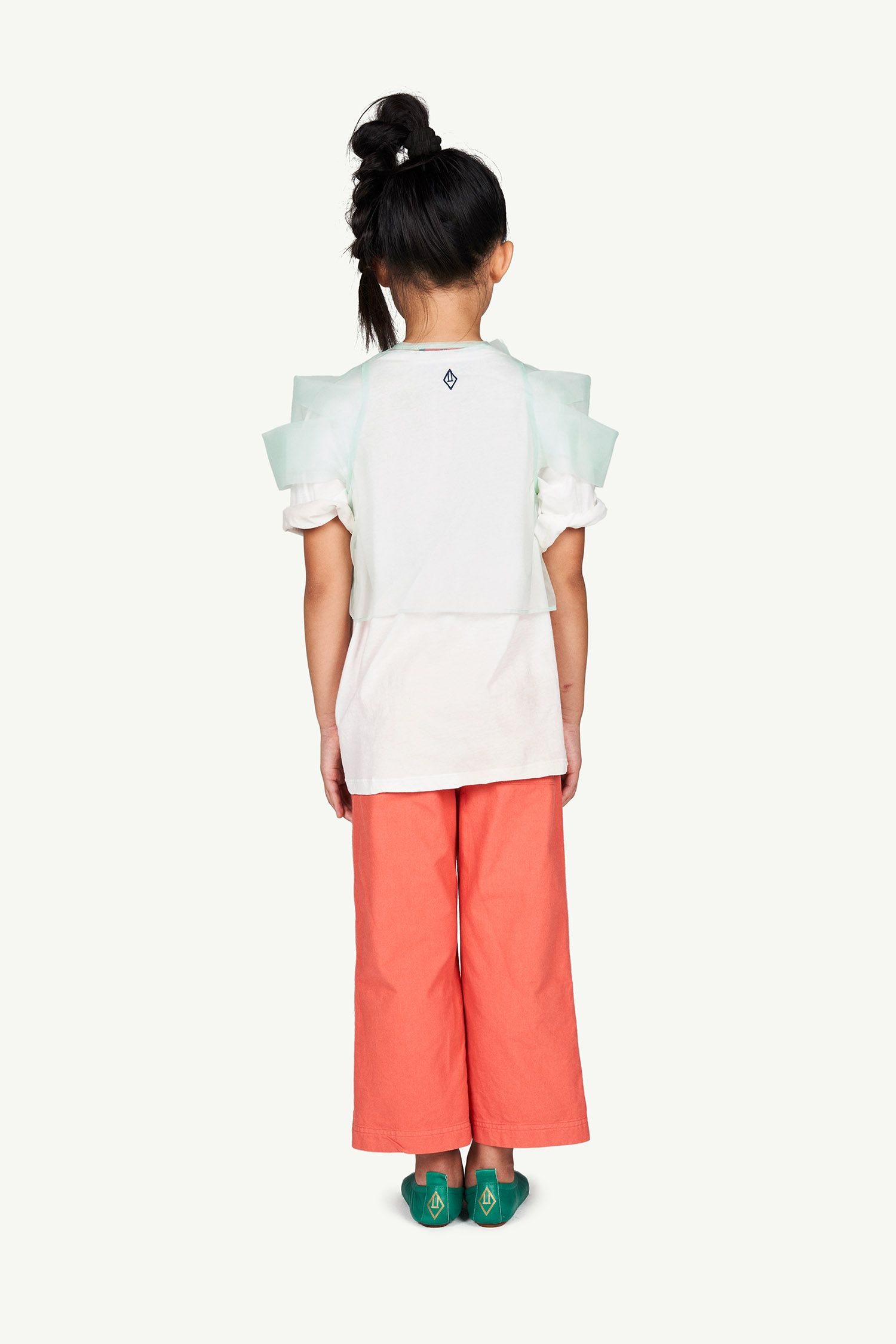 White Lindo Rooster Oversize T-shirt img-6