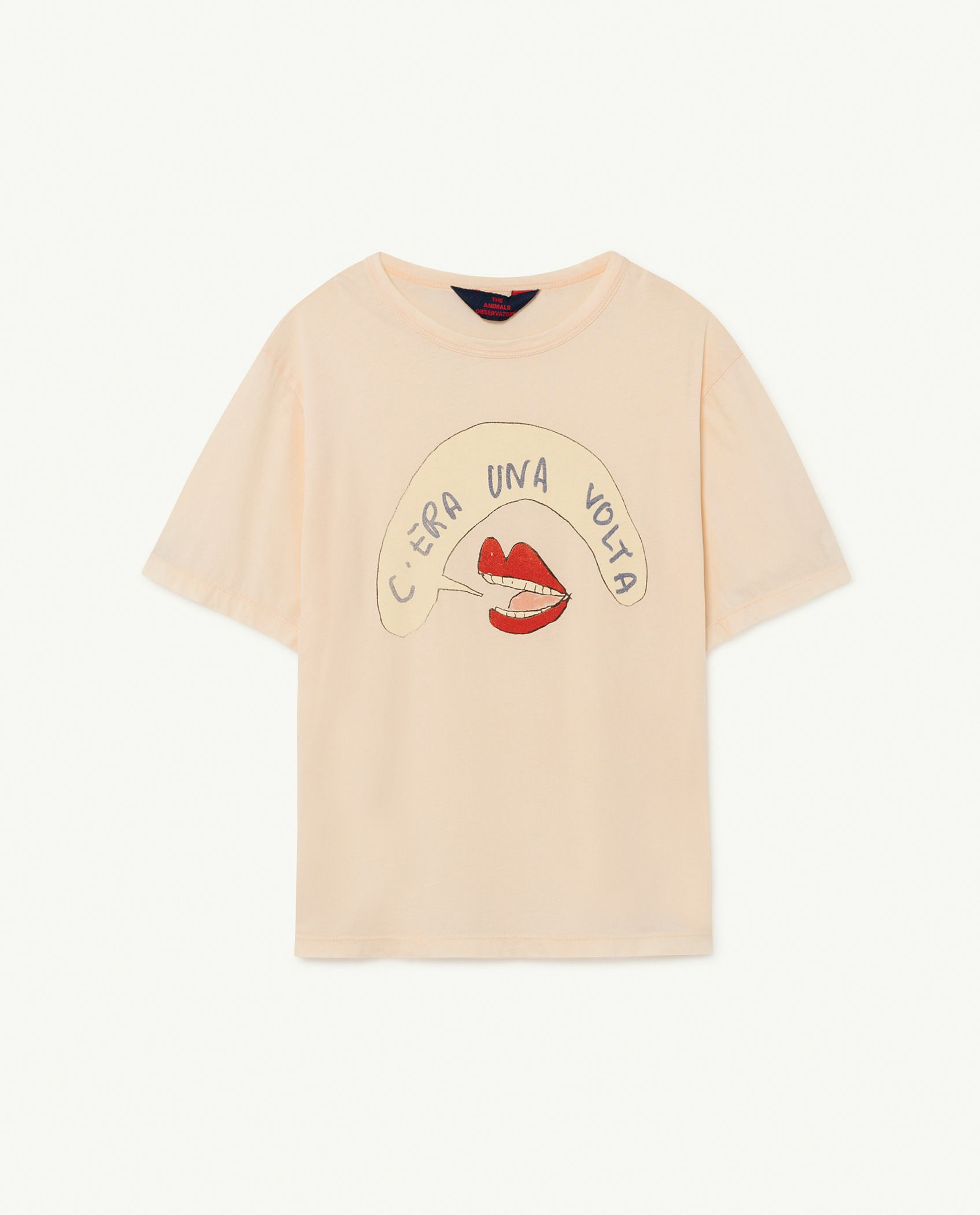 Peachy Mouth Rooster Oversize T-shirt img-1
