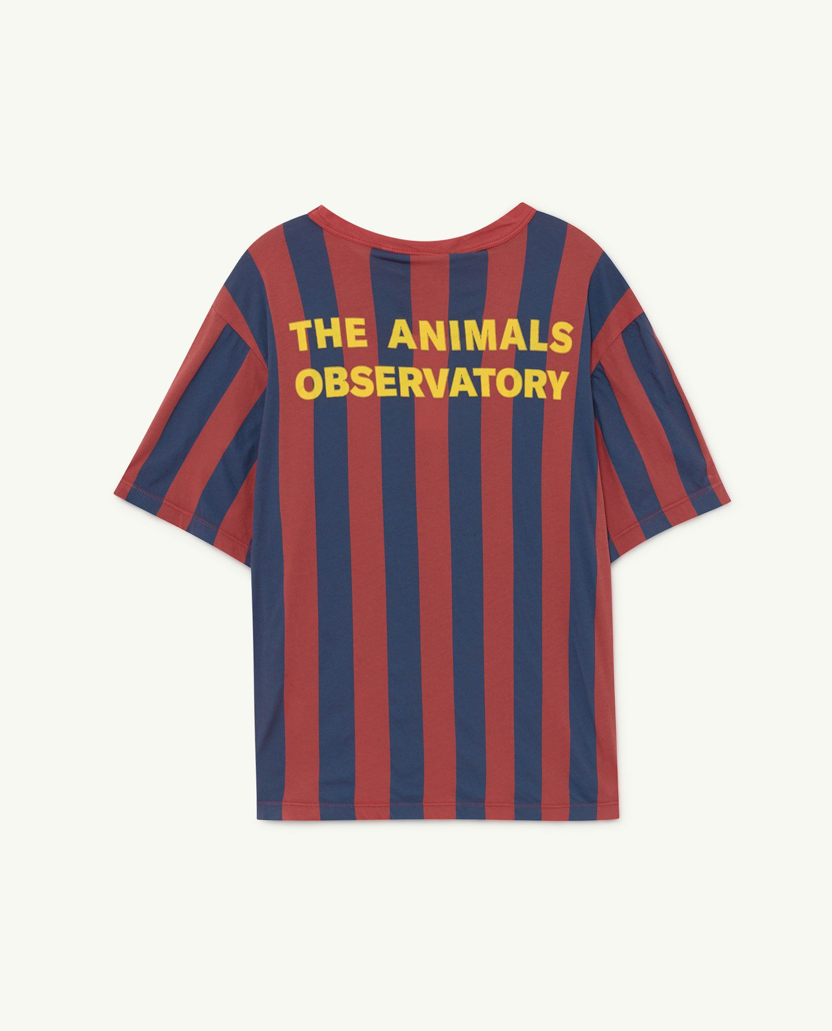 Red Stripes Rooster Oversize T-shirt img-2