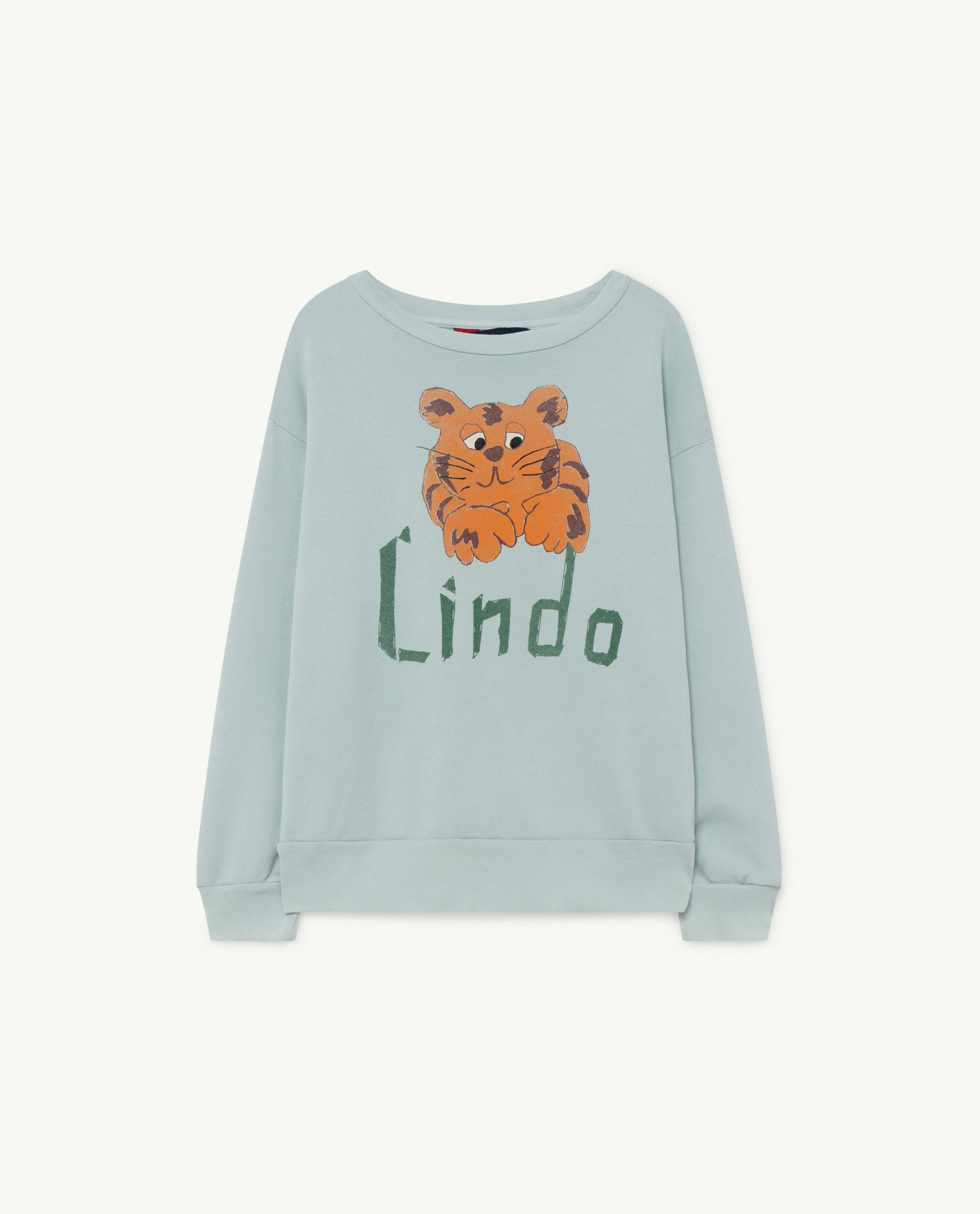 Blue Lindo Bear Sweatshirt img-1
