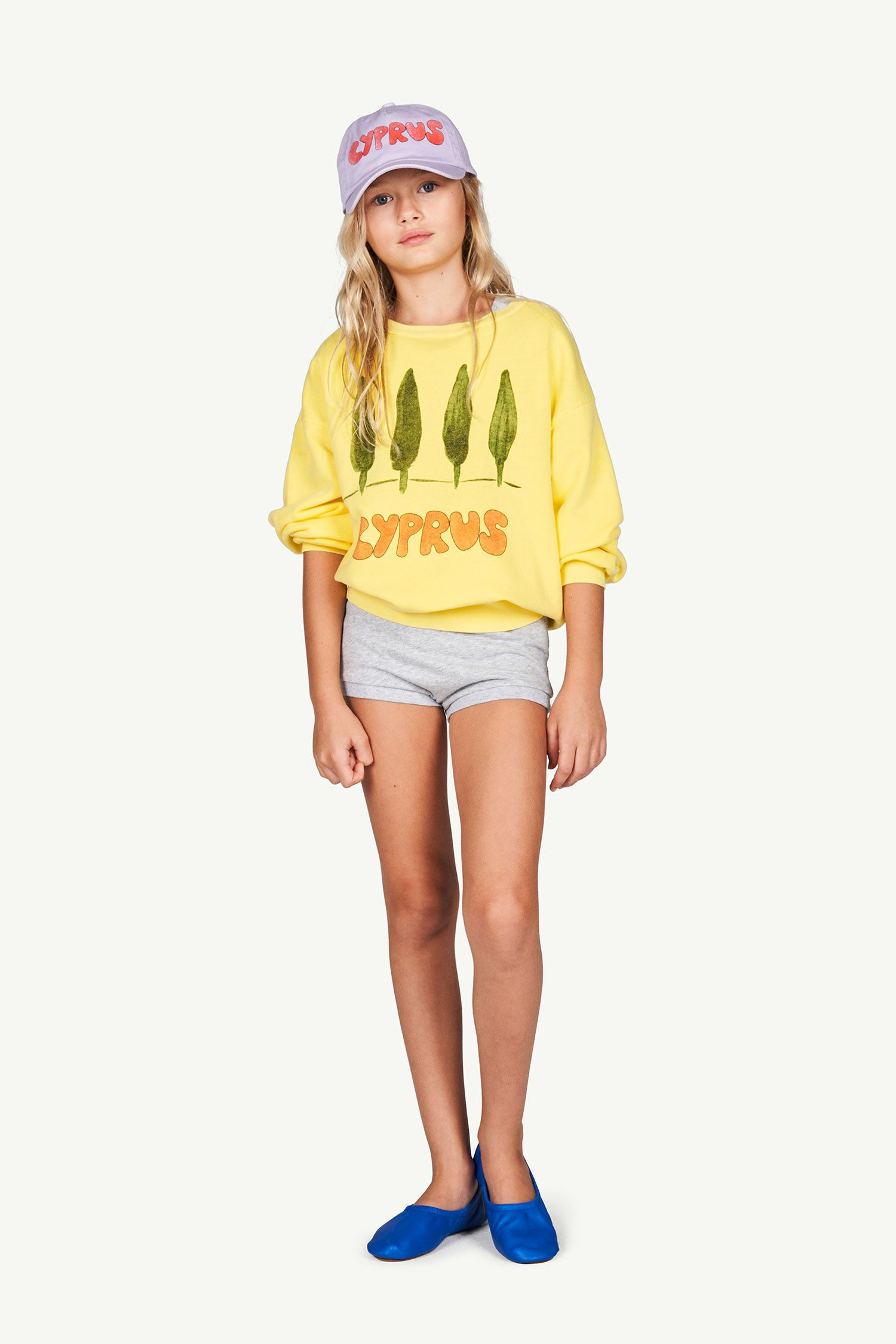 Soft Yellow Cyprus Bear Sweatshirt img-4