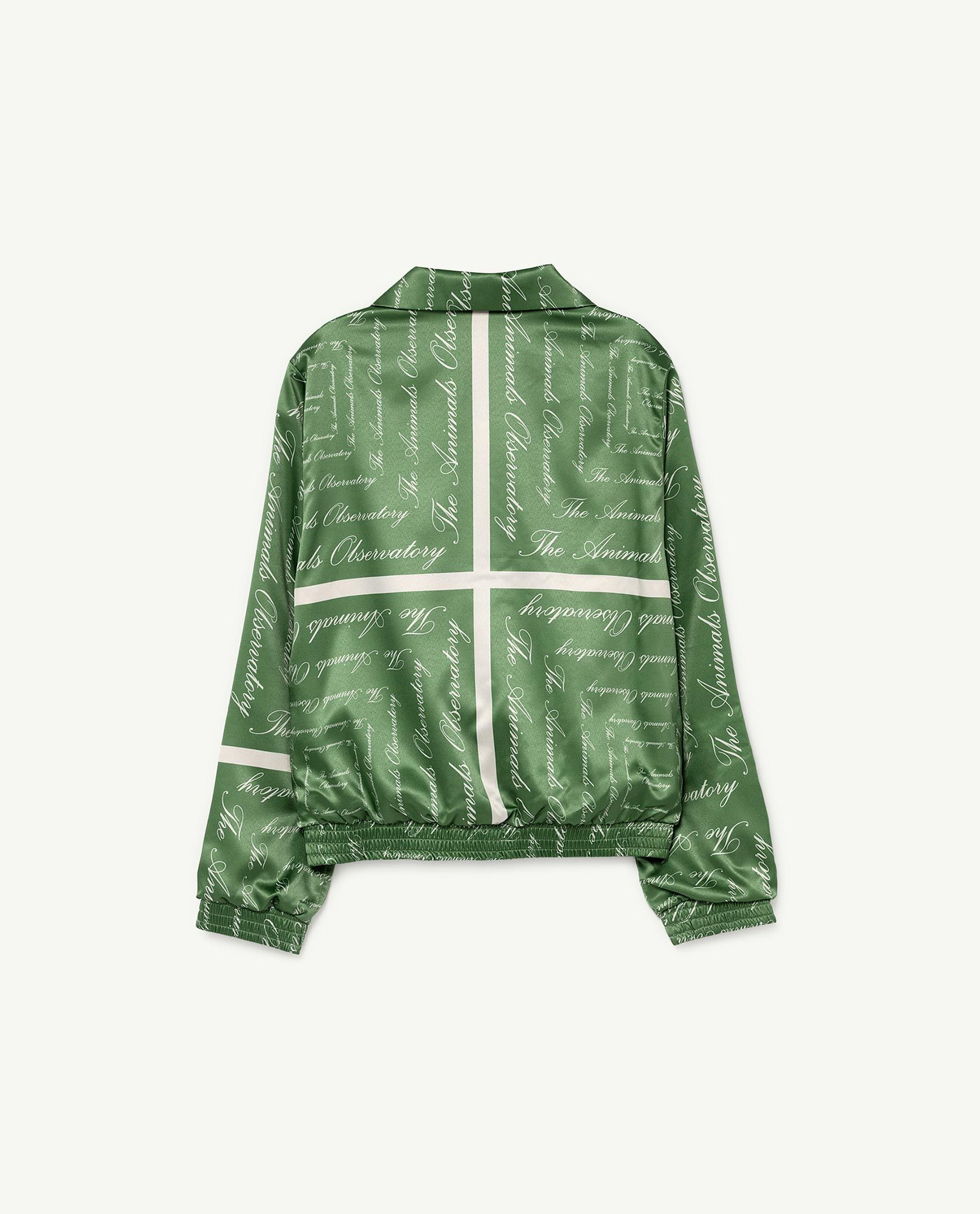 Green The Animals Silky Tiger Jacket img-2