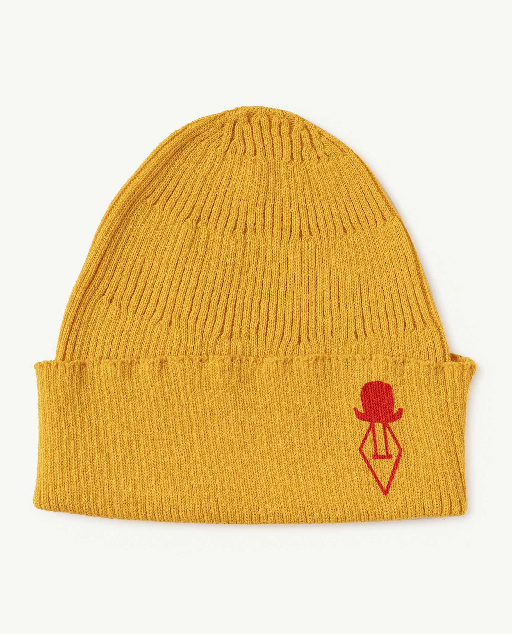 Yellow Logo Pony Hat img-1