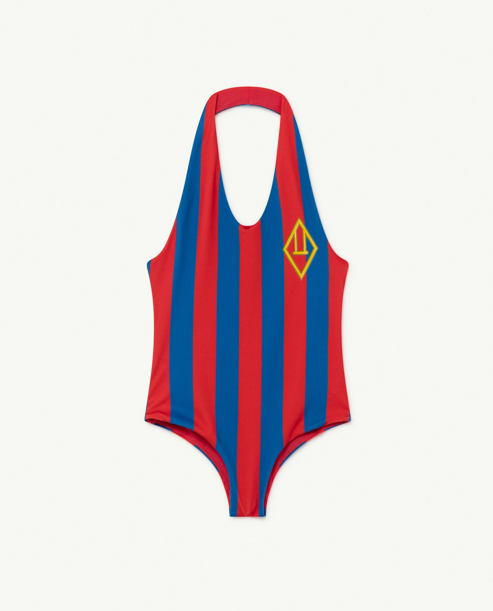 Red Stripes Fish Swimsuit img-1
