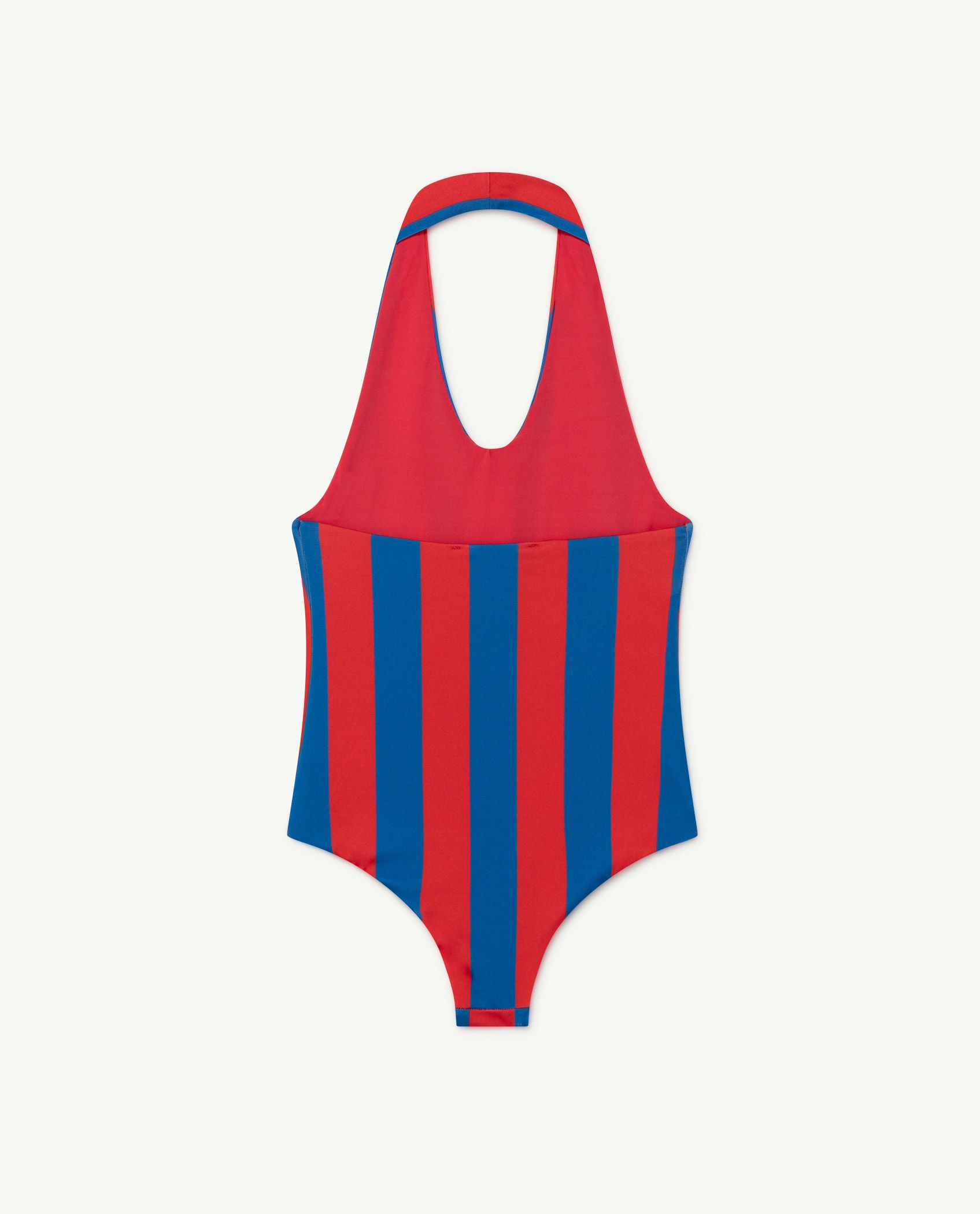 Red Stripes Fish Swimsuit img-2