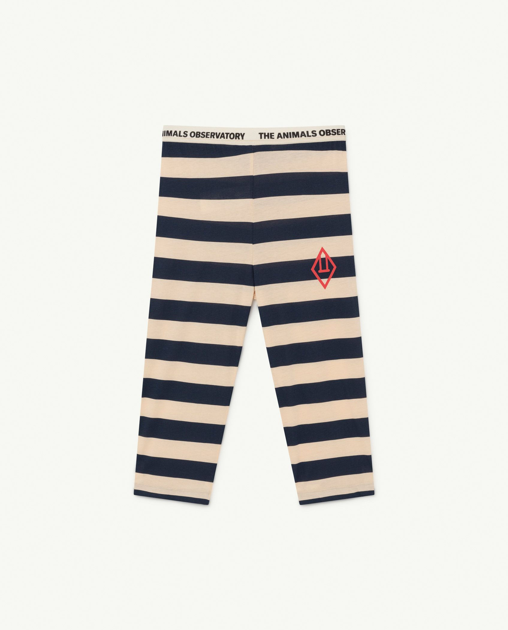 Peachy Stripes Eagle Leggings img-1