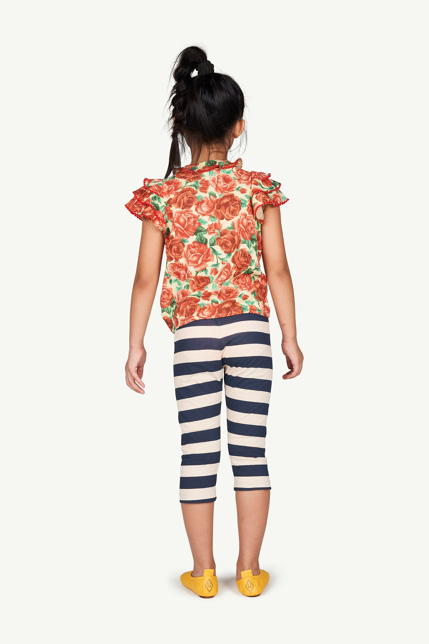 Peachy Stripes Eagle Leggings img-6