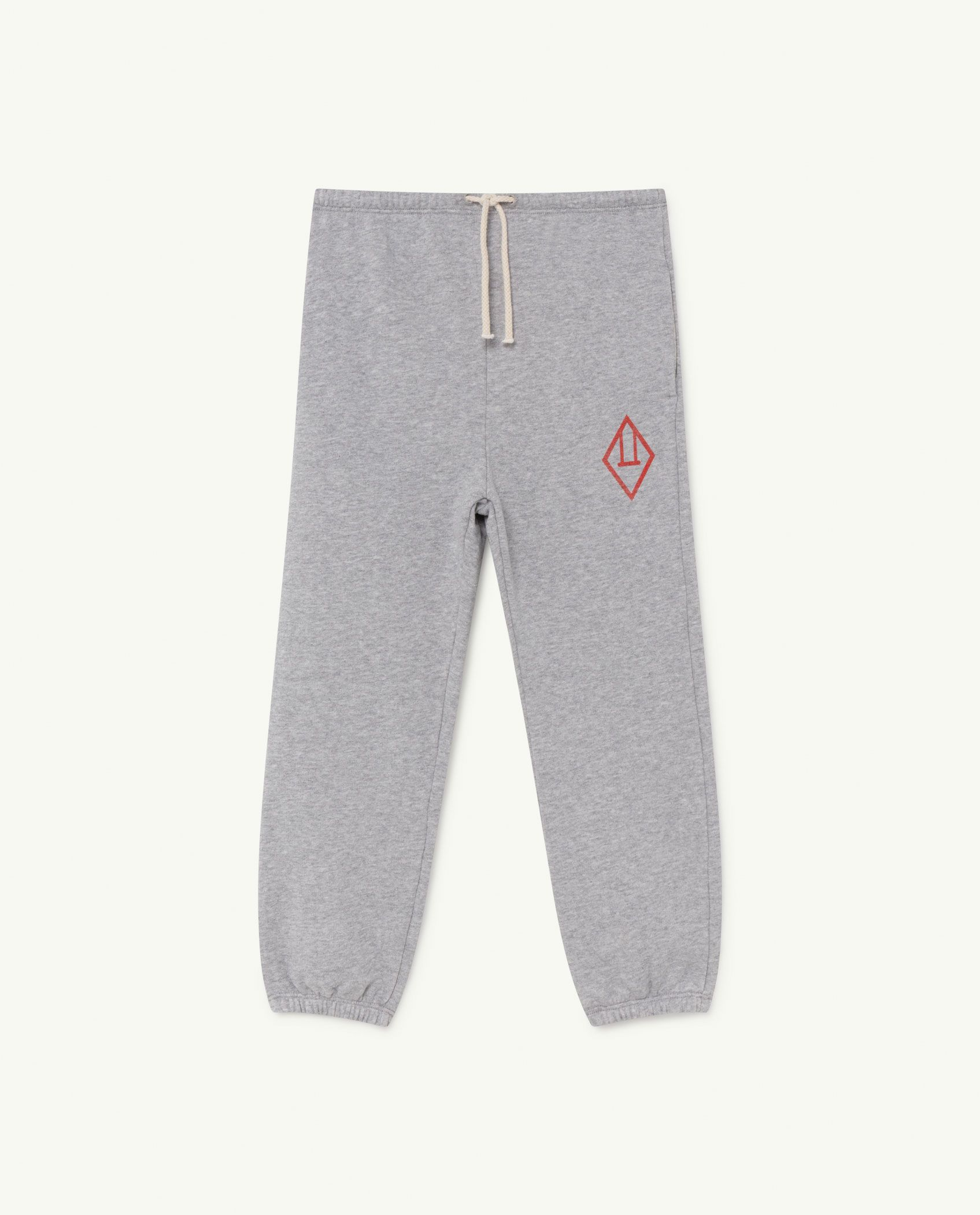 Grey Logo Dromedary Trousers img-1