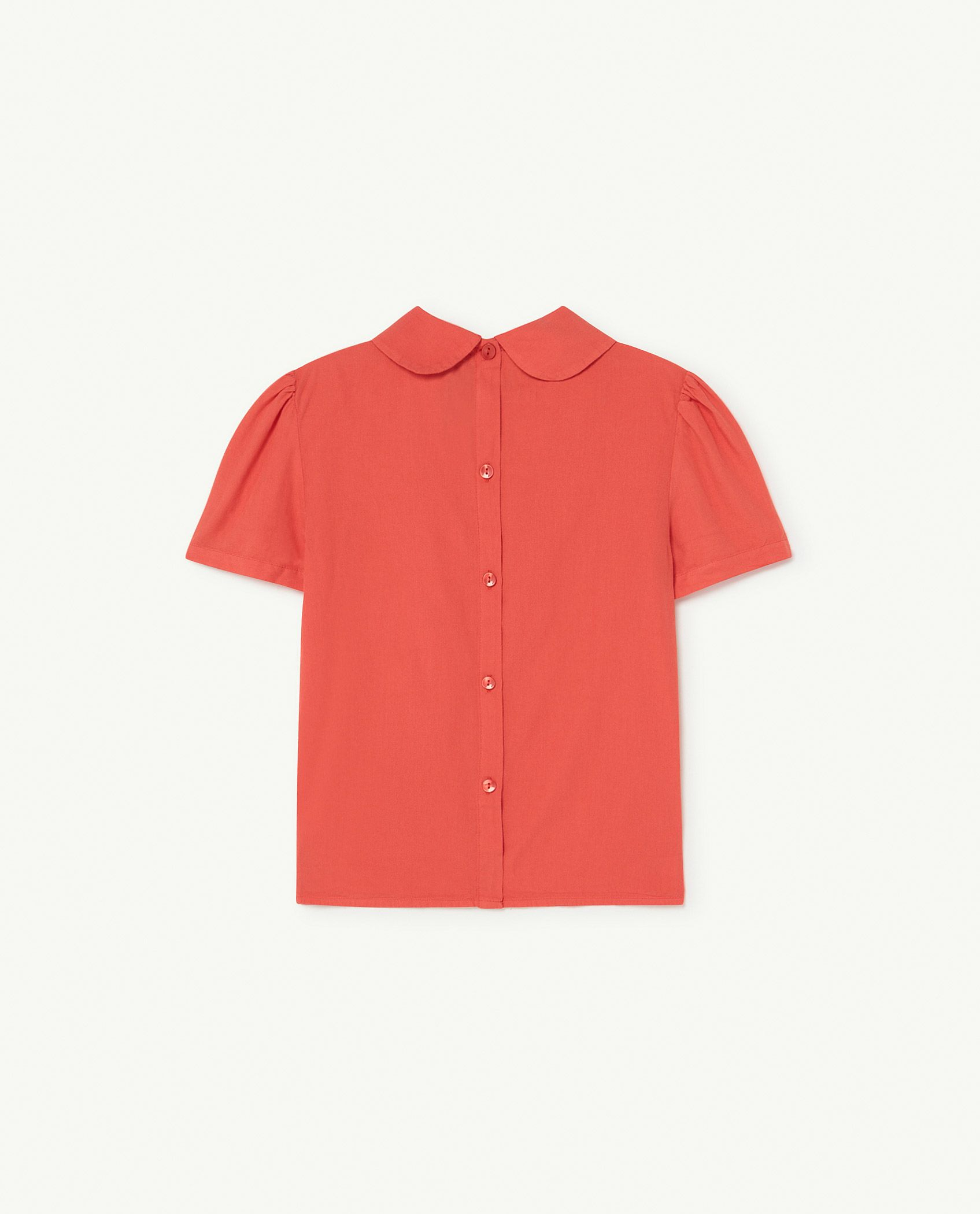 Red Logos Canary Blouse img-2