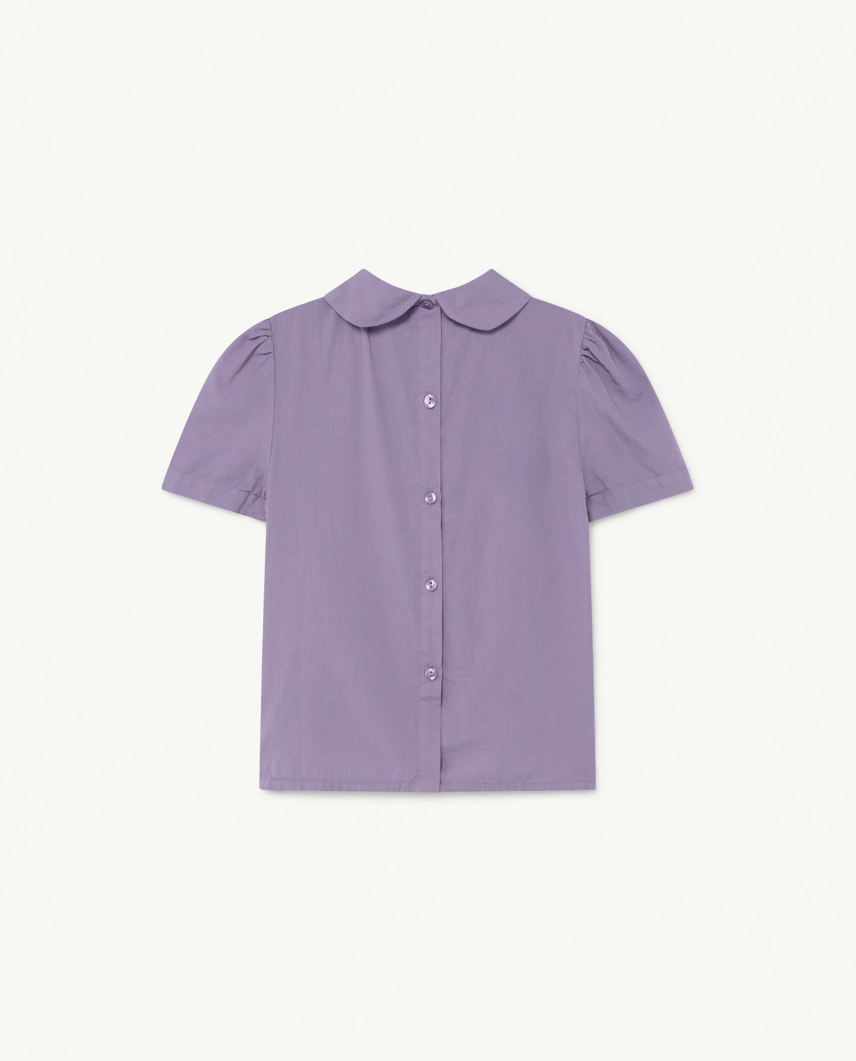 Purple Logos Canary Blouse img-2