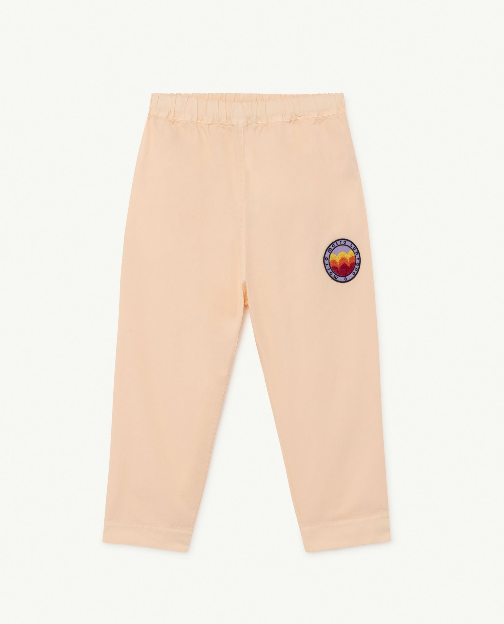 Pink Molto Elephant Trousers img-1