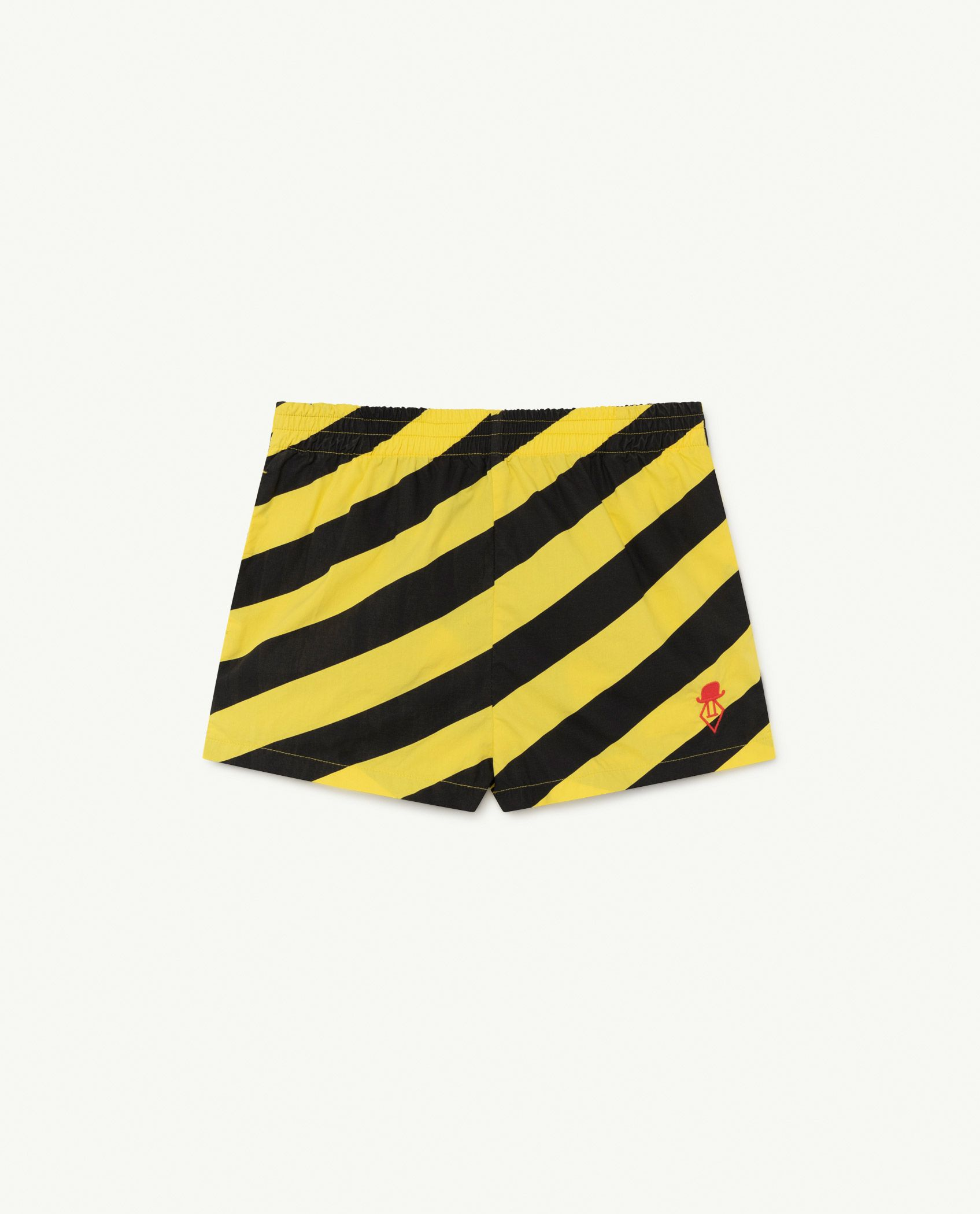 Yellow Stripes Pelican Trousers img-1
