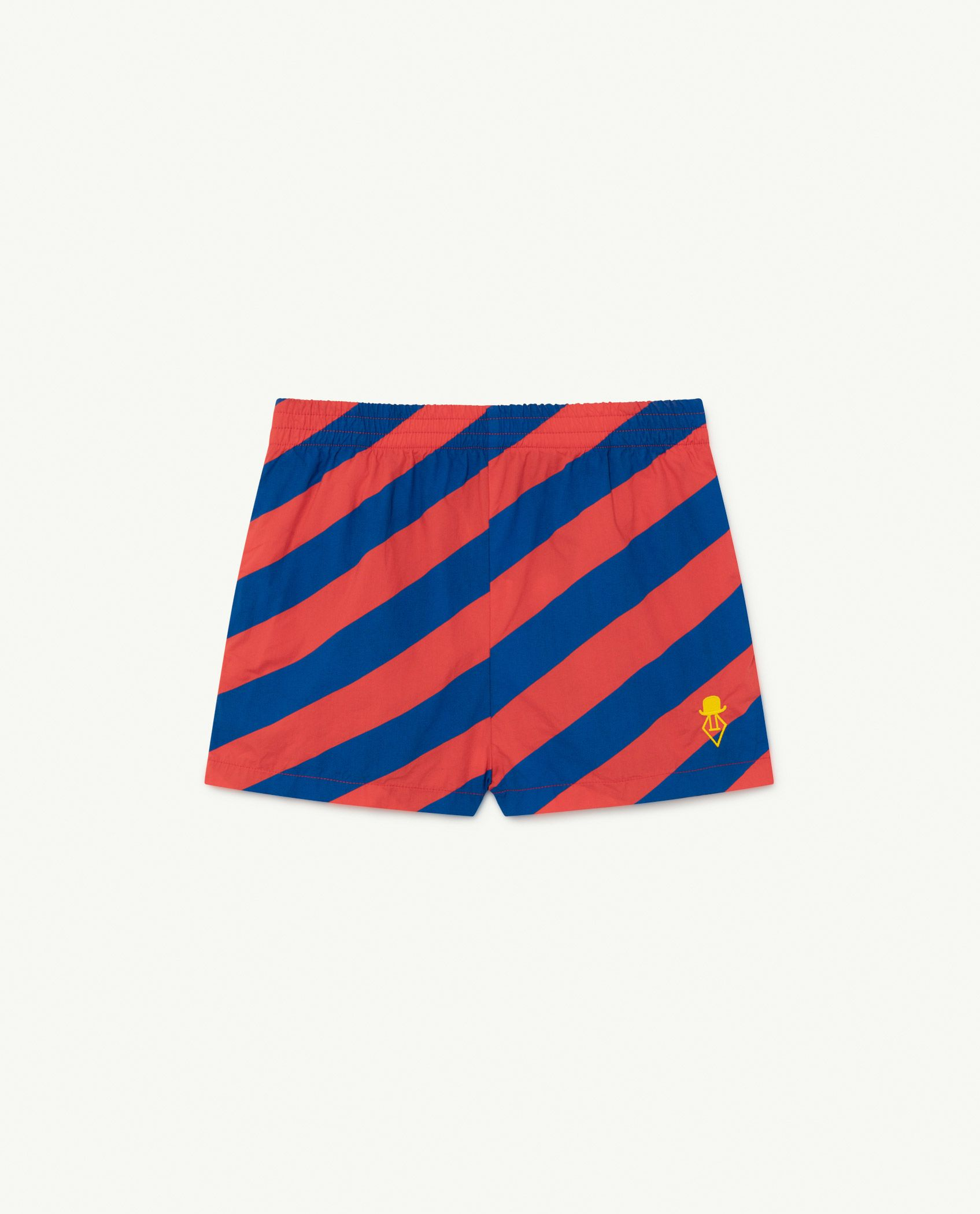 Red Stripes Pelican Trousers img-1
