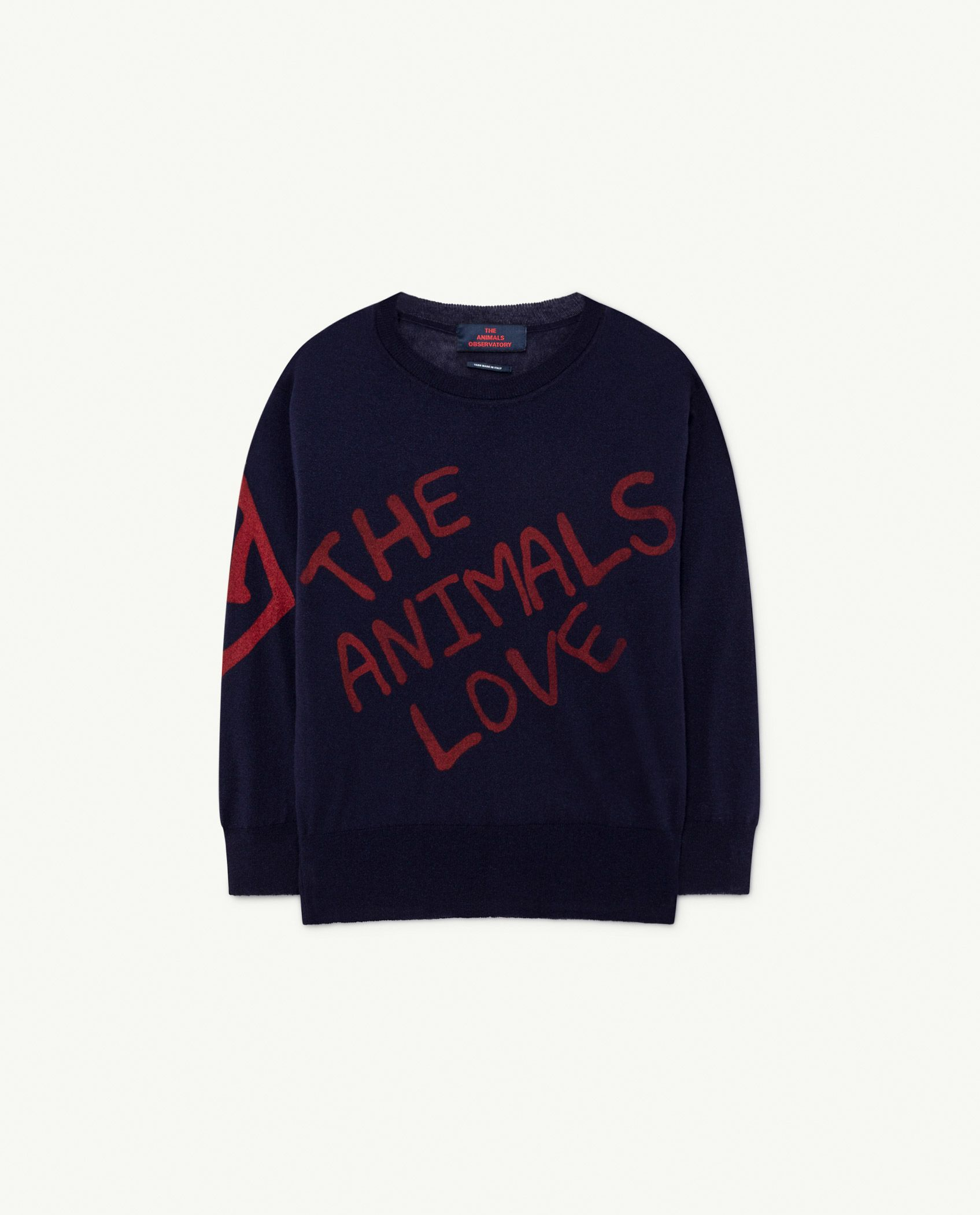 Navy The Animals Bull Sweater img-1