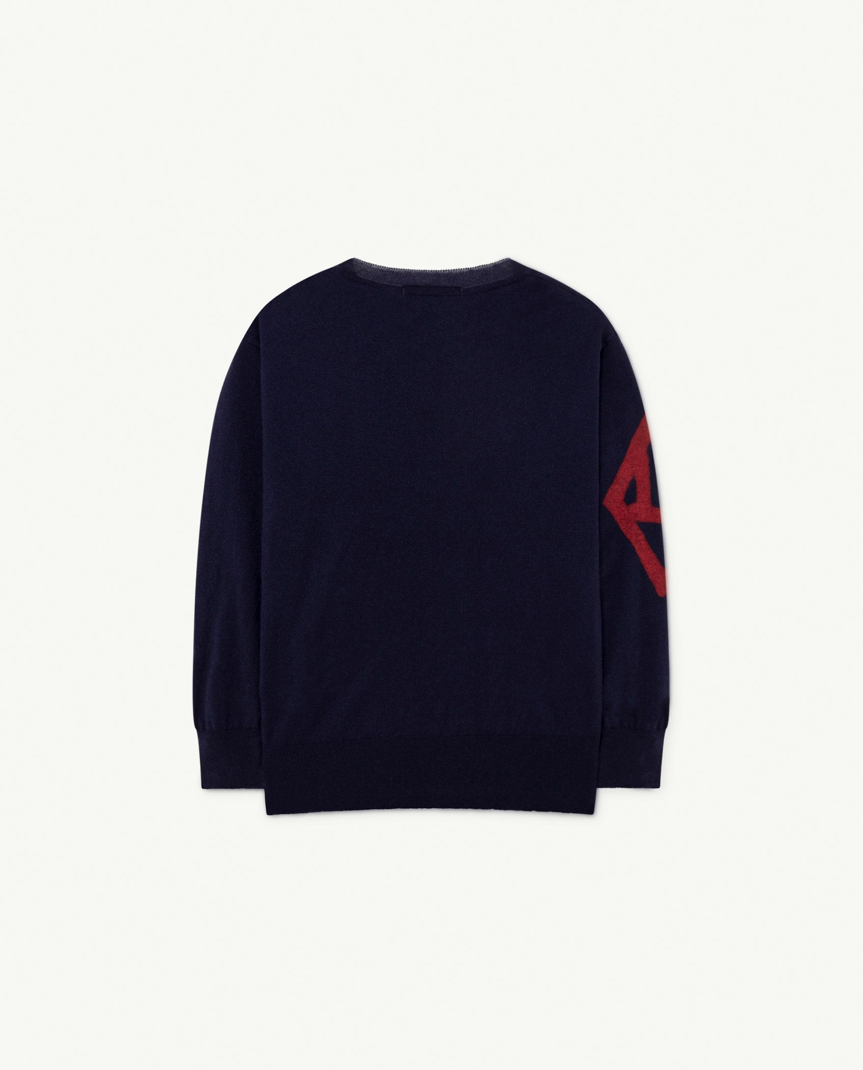 Navy The Animals Bull Sweater img-2