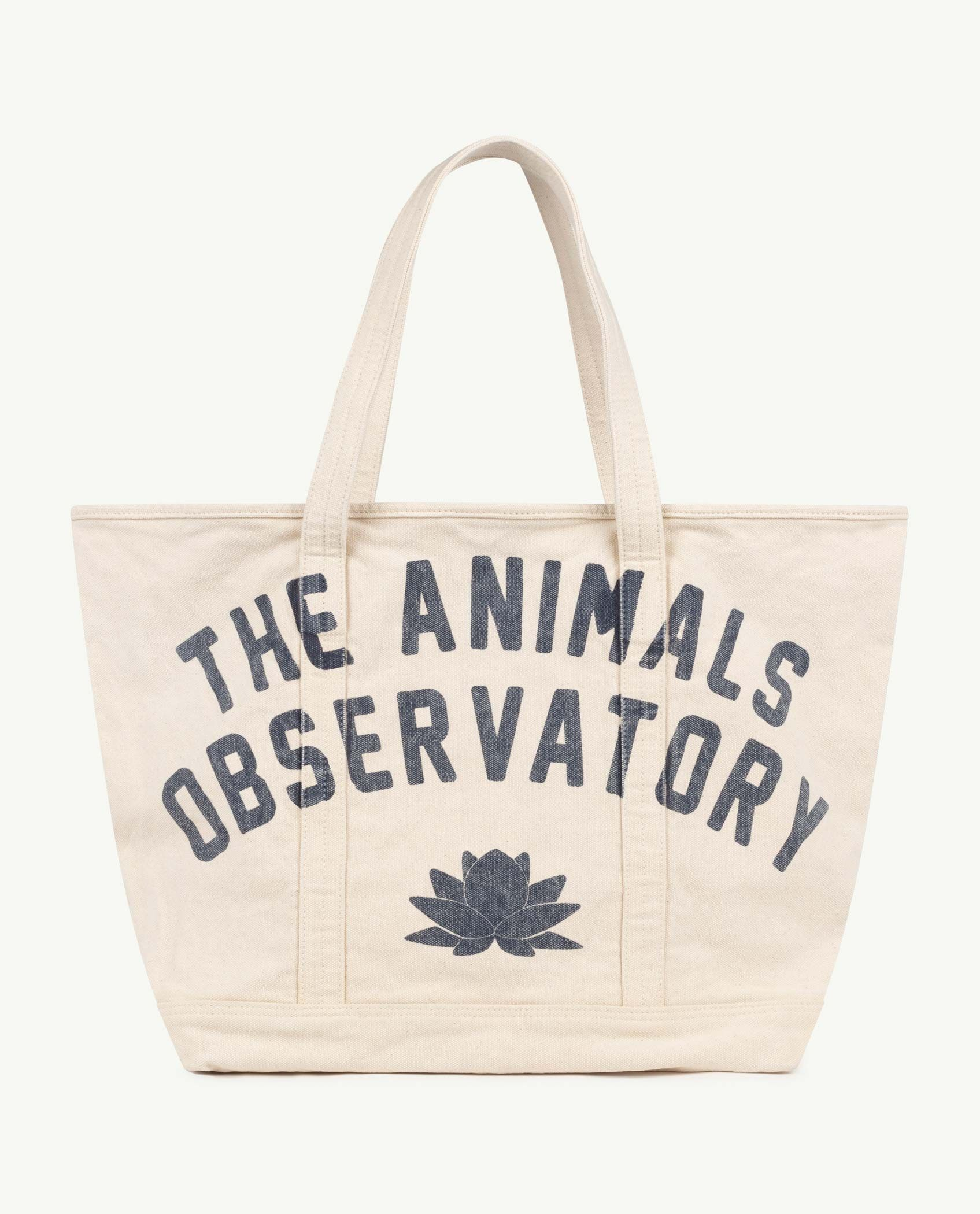 White The Animals Tote Bag img-1