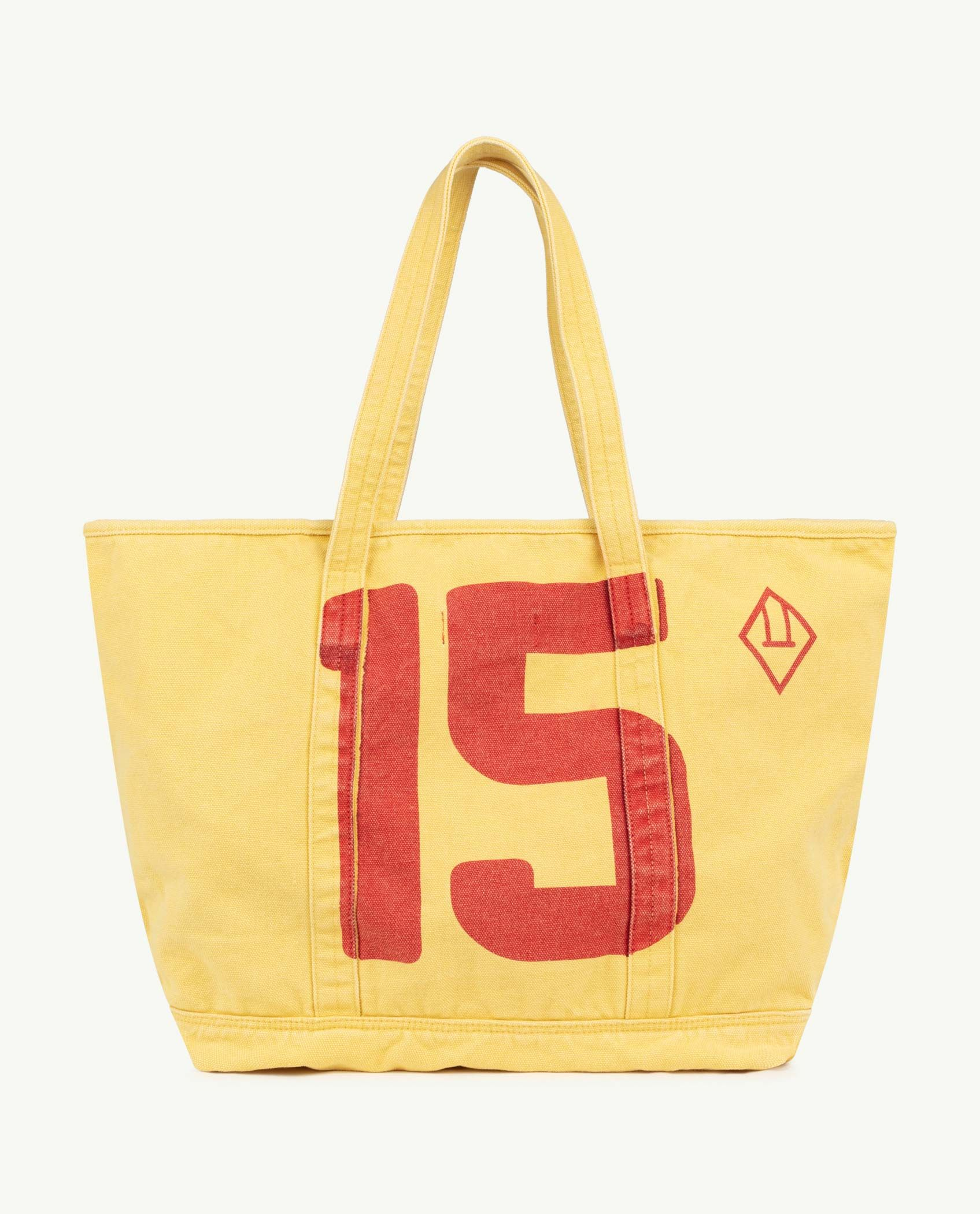 Yellow The Animals Tote Bag img-2