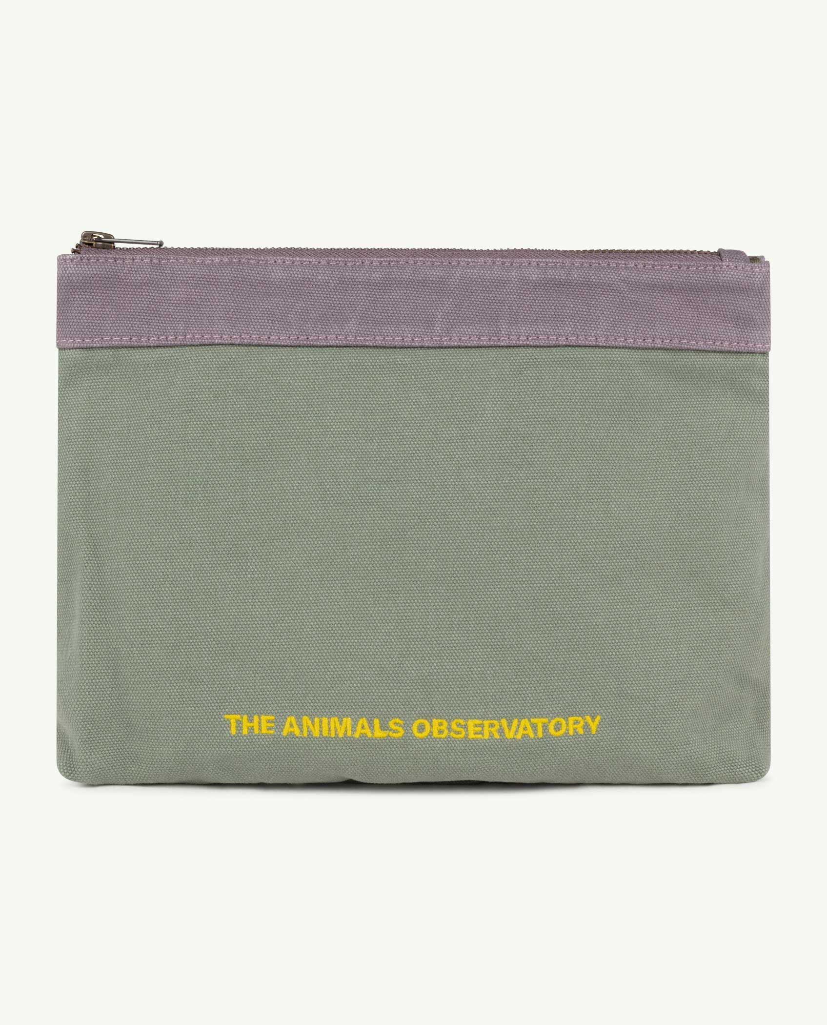 Military Green The Animals Pouch img-1