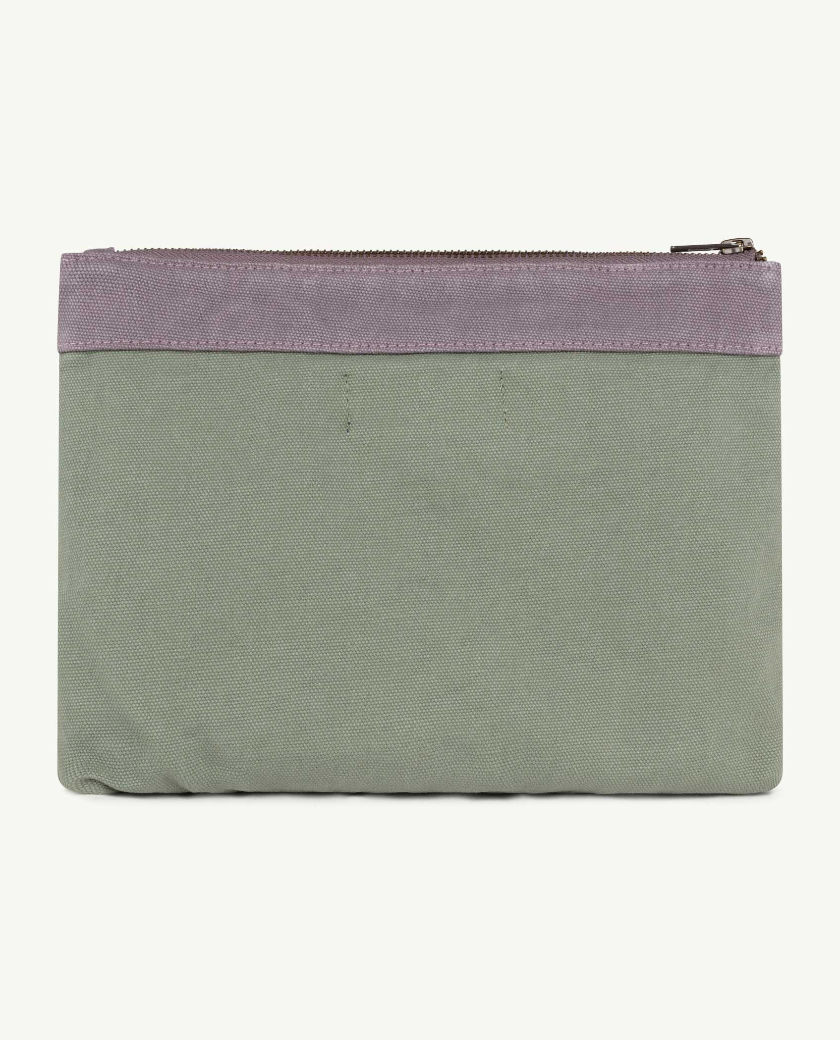 Military Green The Animals Pouch img-2