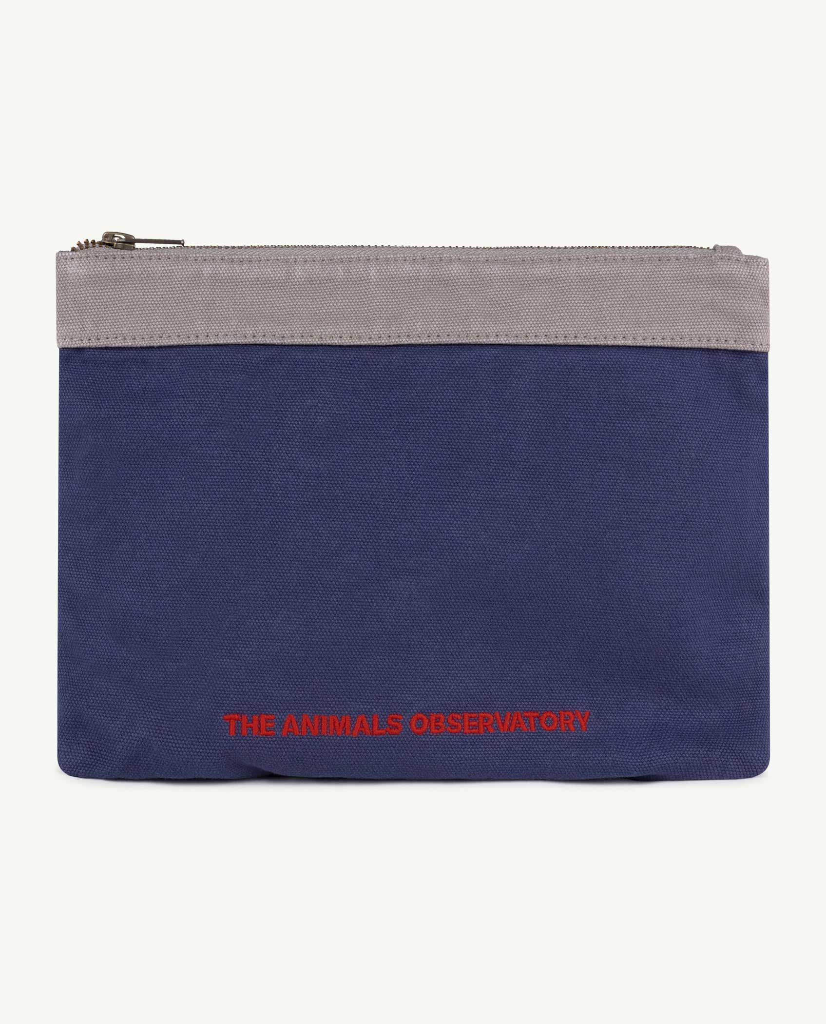 Navy The Animals Pouch img-1