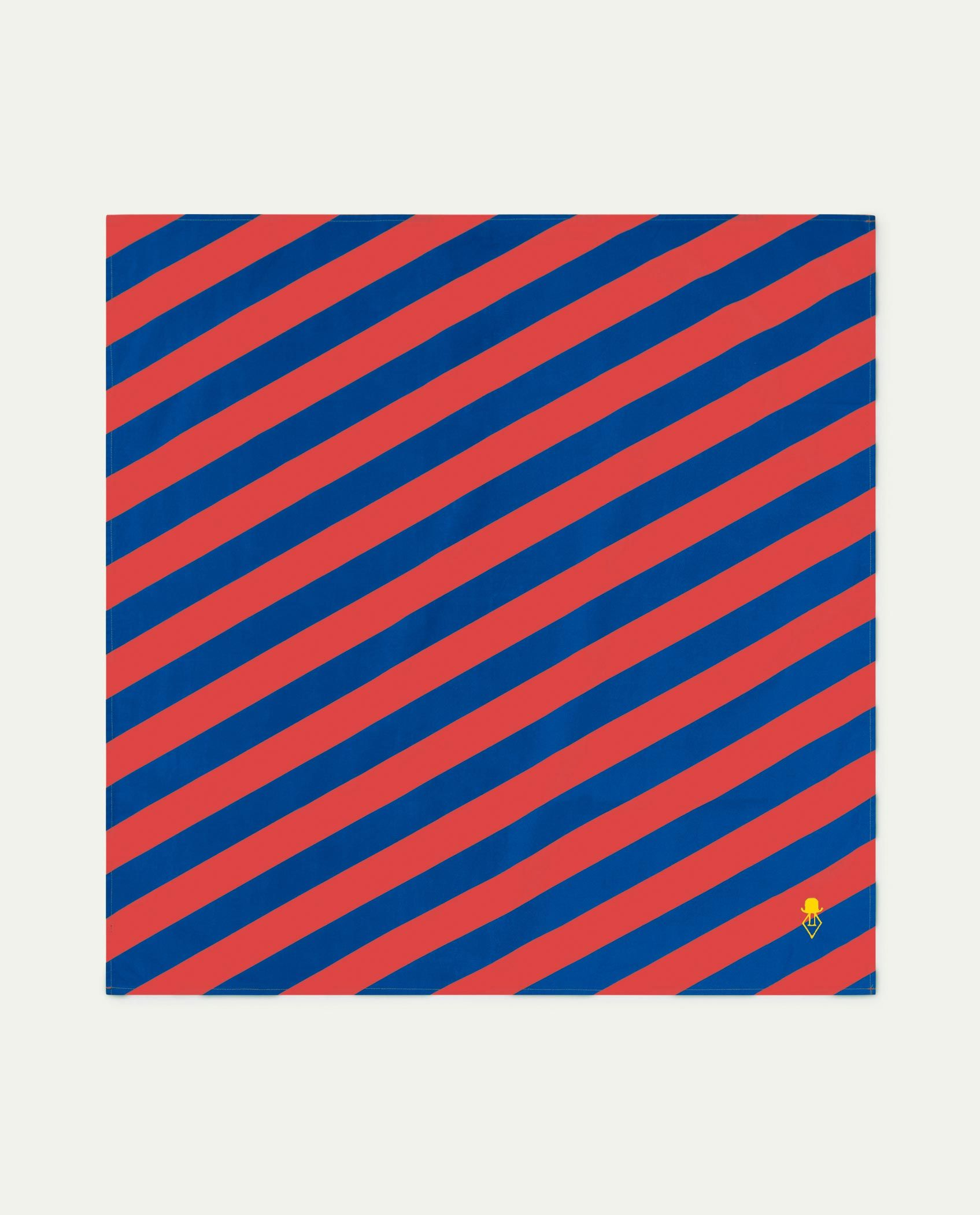 Red Stripes Ray Handkerchief img-1