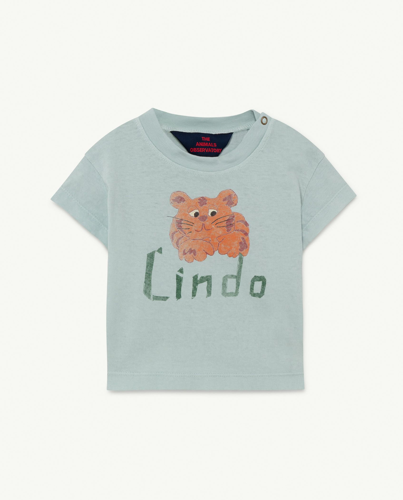 Blue Lindo Rooster Baby T-shirt img-1