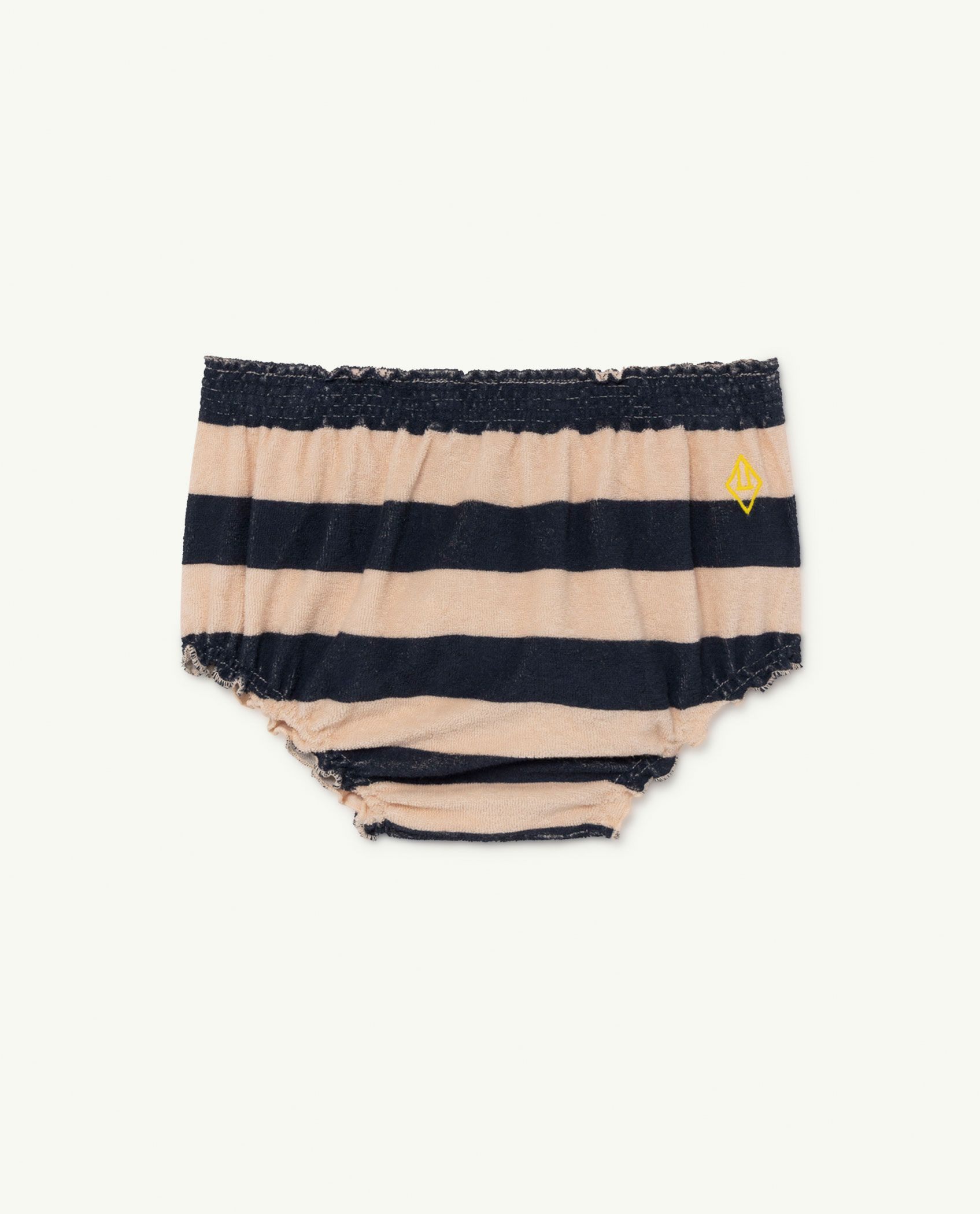 Peachy Stripes Toads Baby Culotte img-1