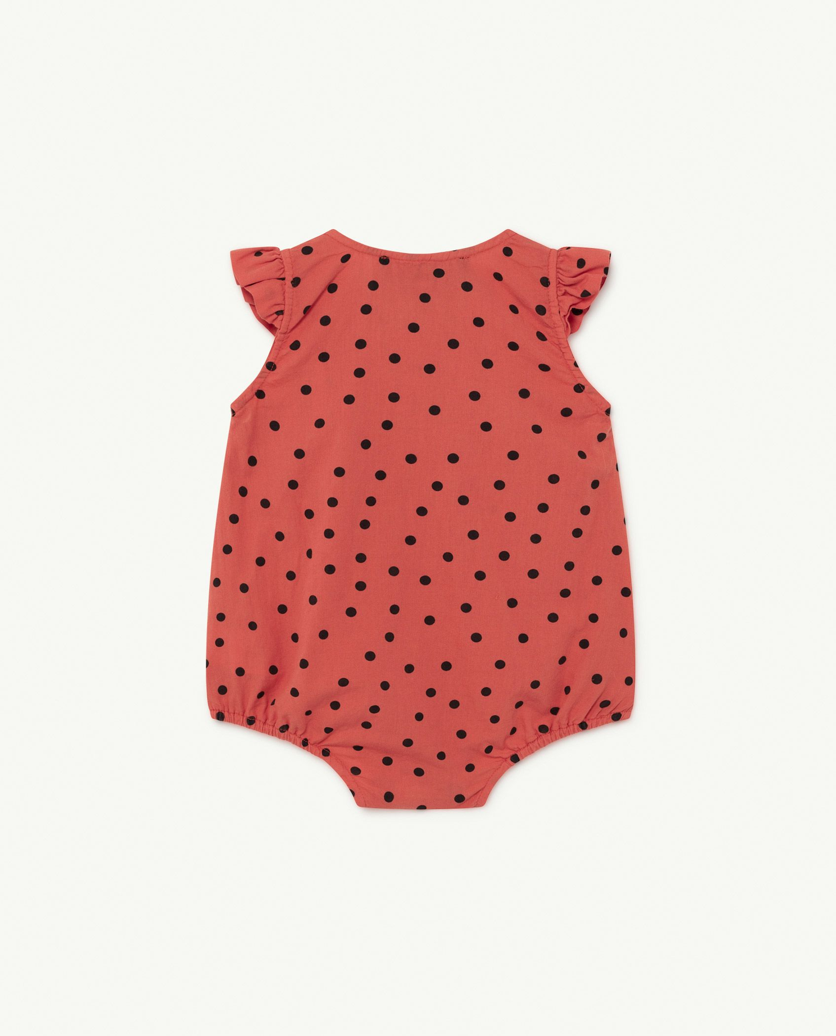 Red Dots Butterfly Baby Body img-2