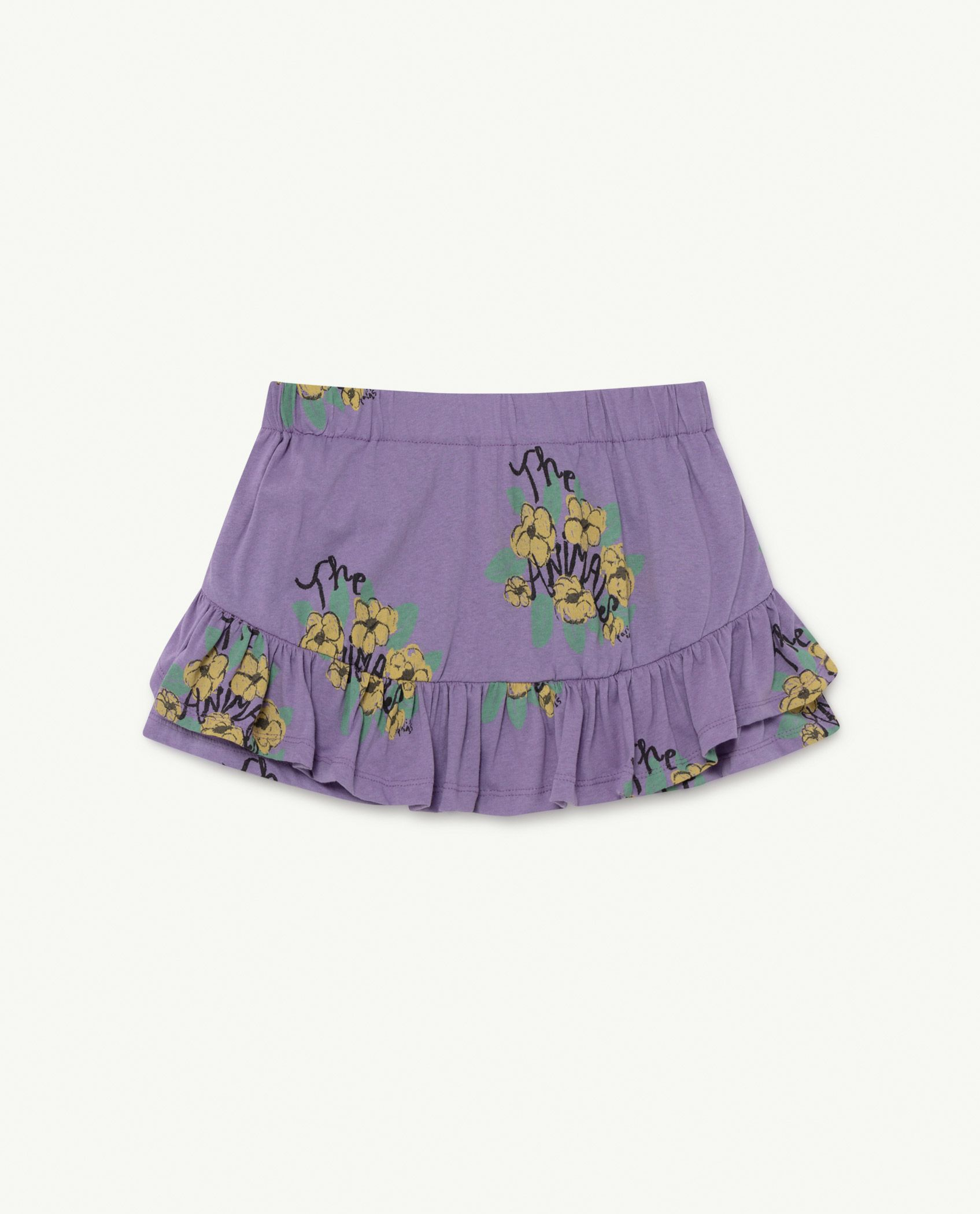 Purple Flowers Kiwi Skirt img-1